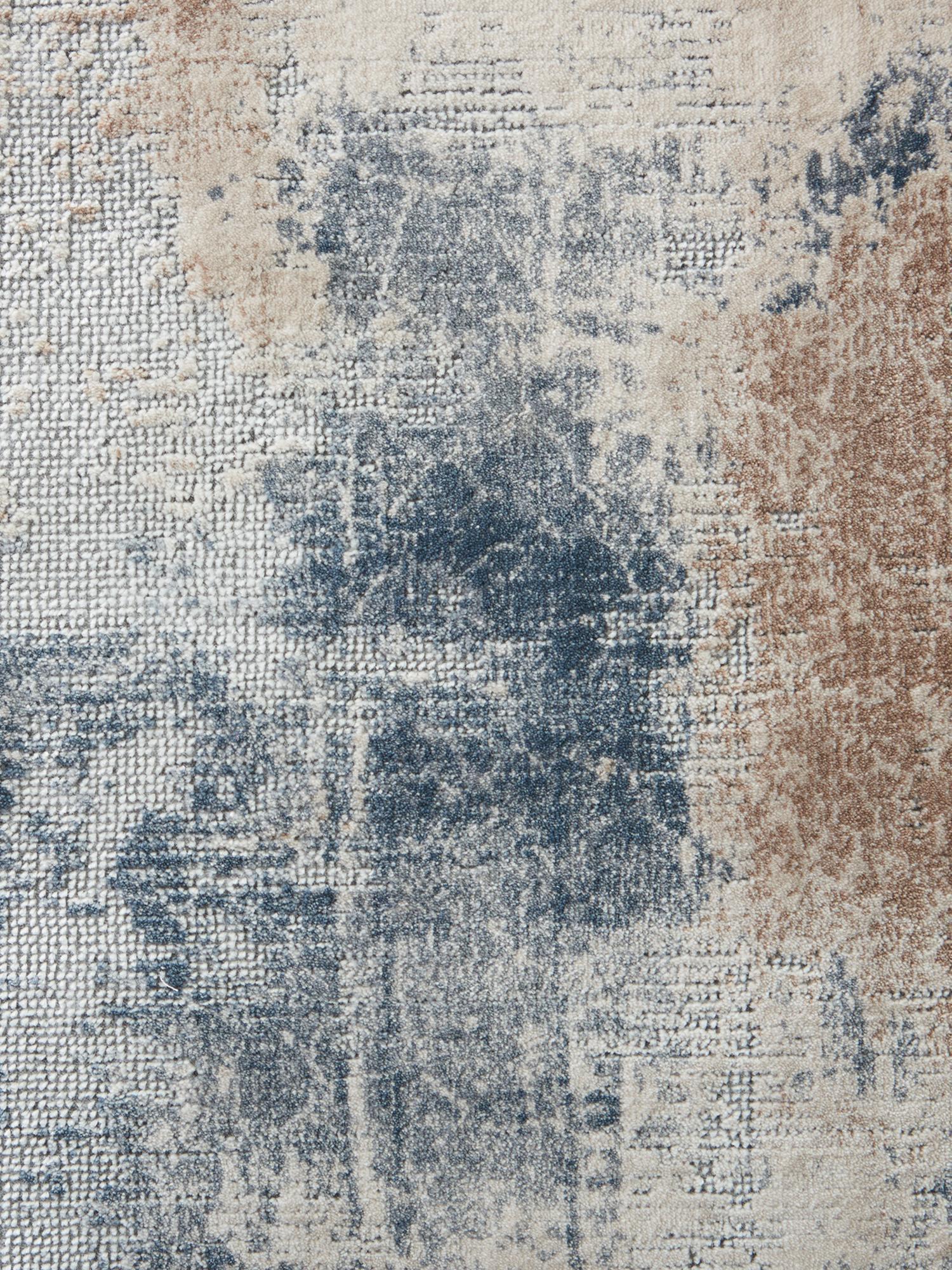 Dywan z wypukłym wzorem Rustic Textures II, Odcienie beżowego, szary, S 240 x D 320 cm (Rozmiar L)