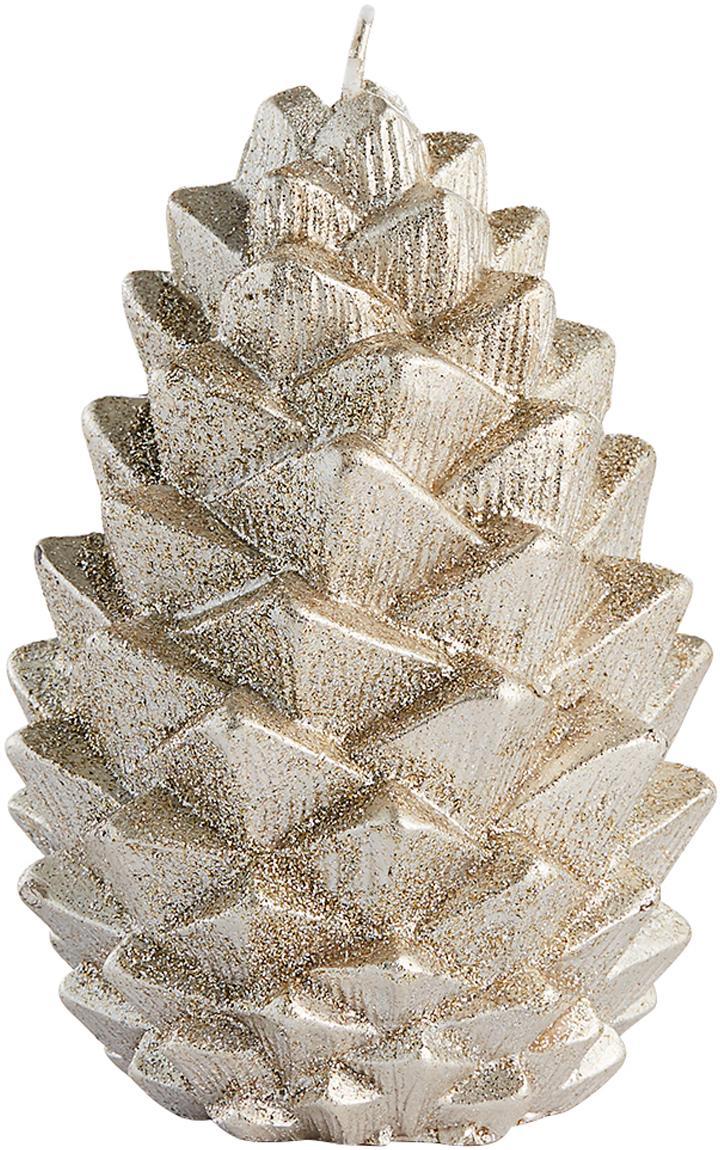 Vela Nordic Pine, Parafina, Dorado, Ø 9 x Al 12 cm