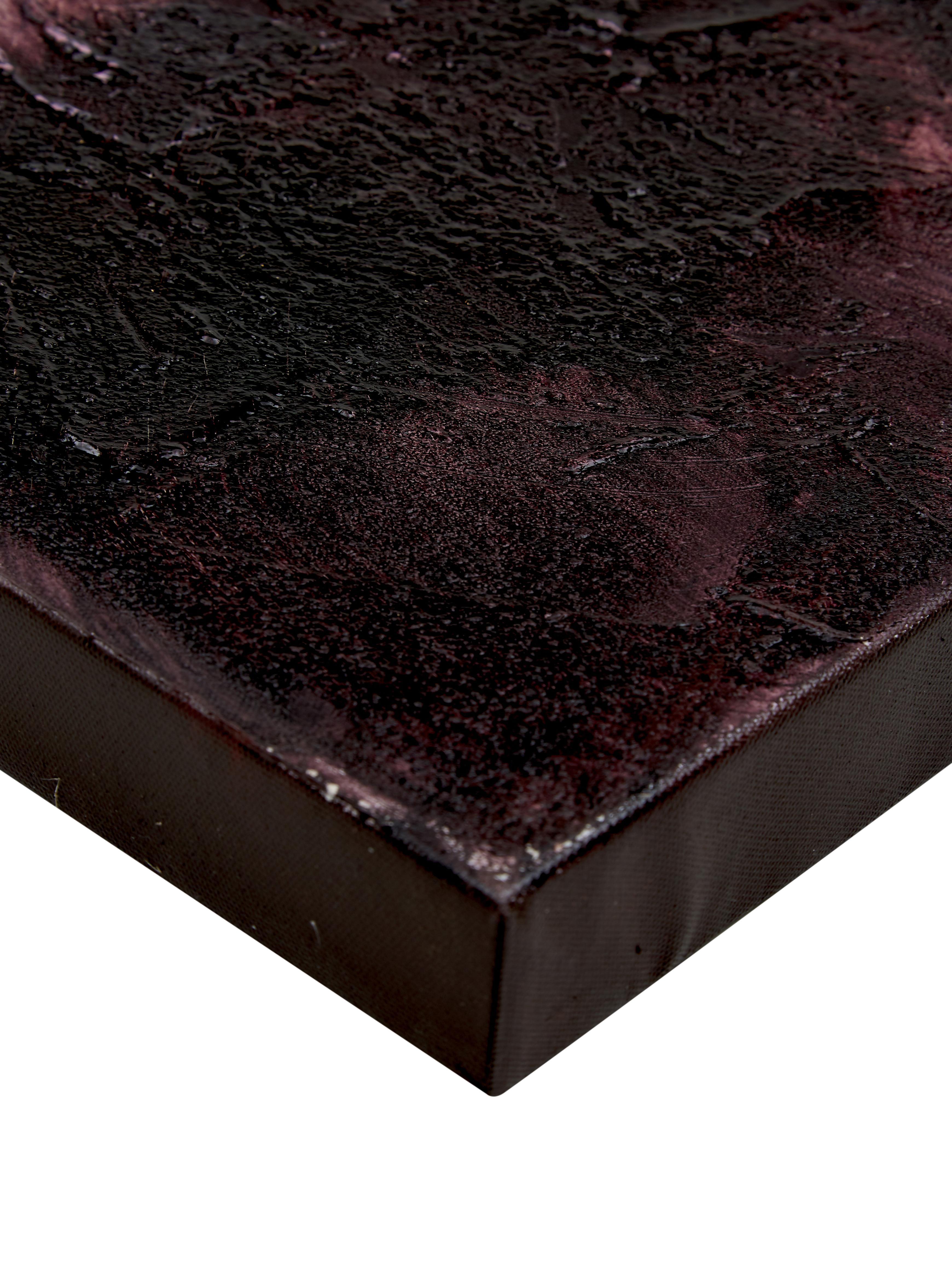 Handgemaltes Leinwandbild Turning Red, Bild: Ölfarben auf Leinen (300 , Mehrfarbig, 120 x 90 cm
