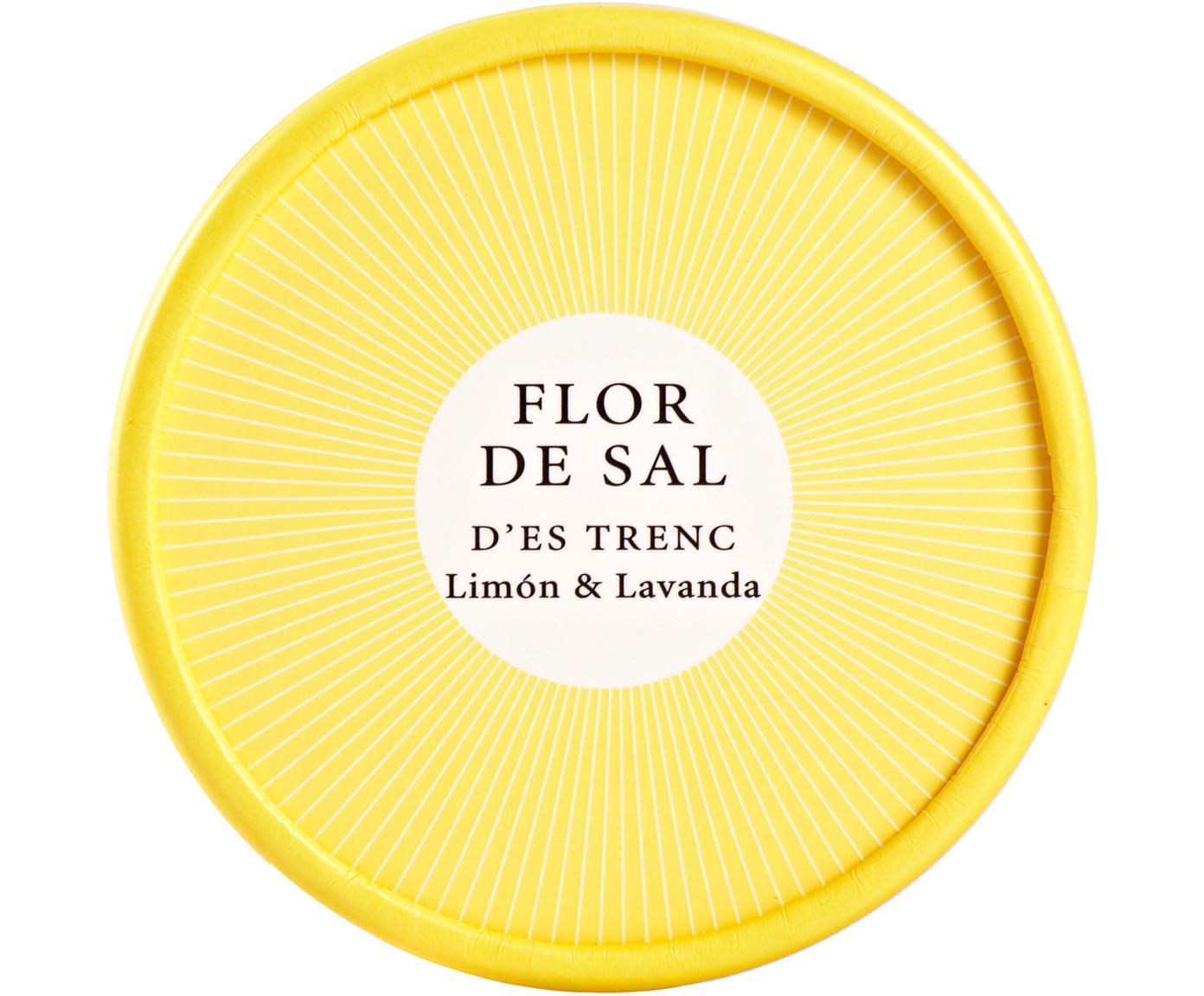 Gewürzsalz Flor de Sal d´Es Trenc (Zitrone & Lavendel), Dose: Pappmembran, Gelb, 150 g