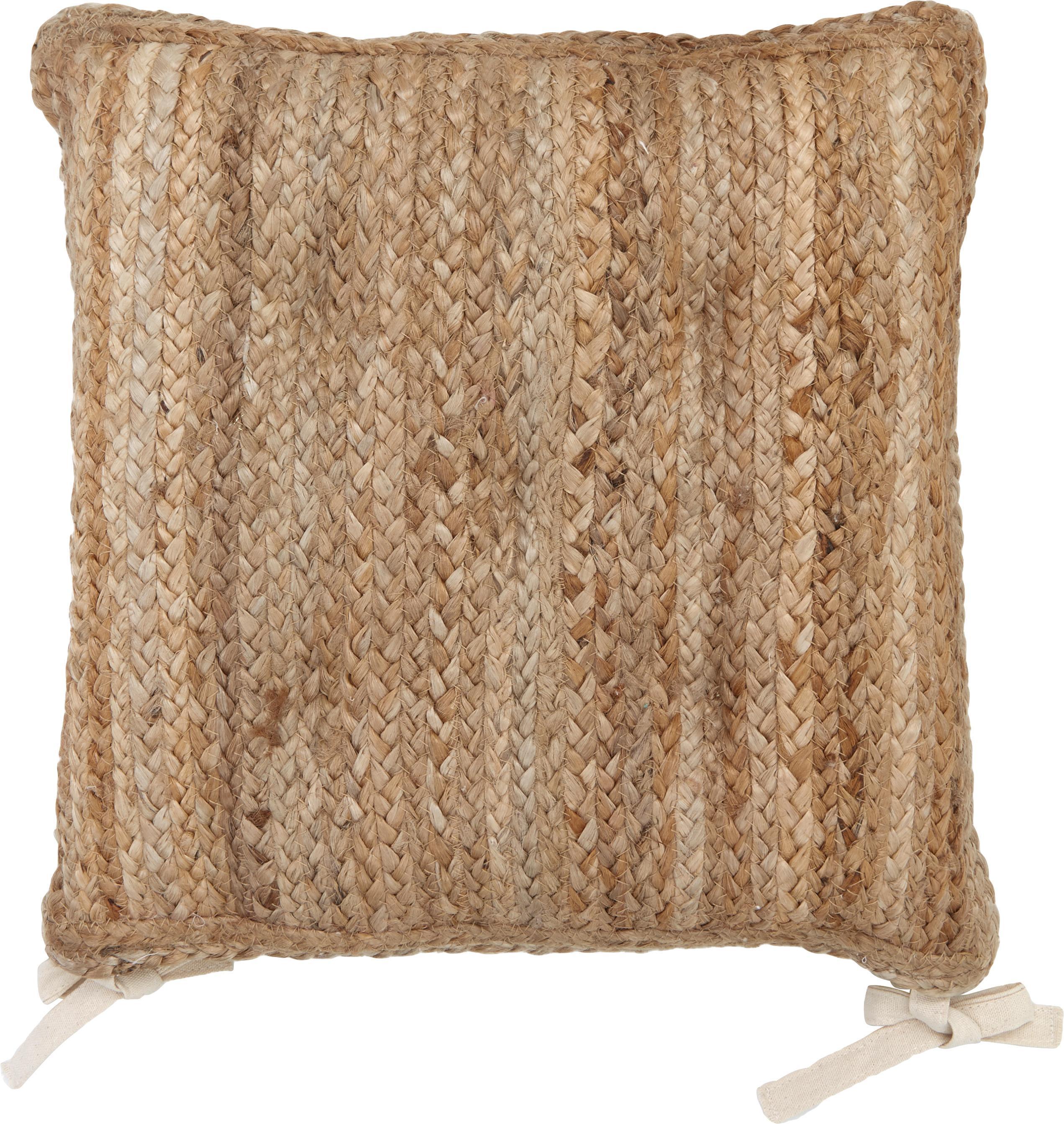 Cuscino sedia Ural, 2 pz., Retro: cotone, Iuta, P 40 x L 40 cm