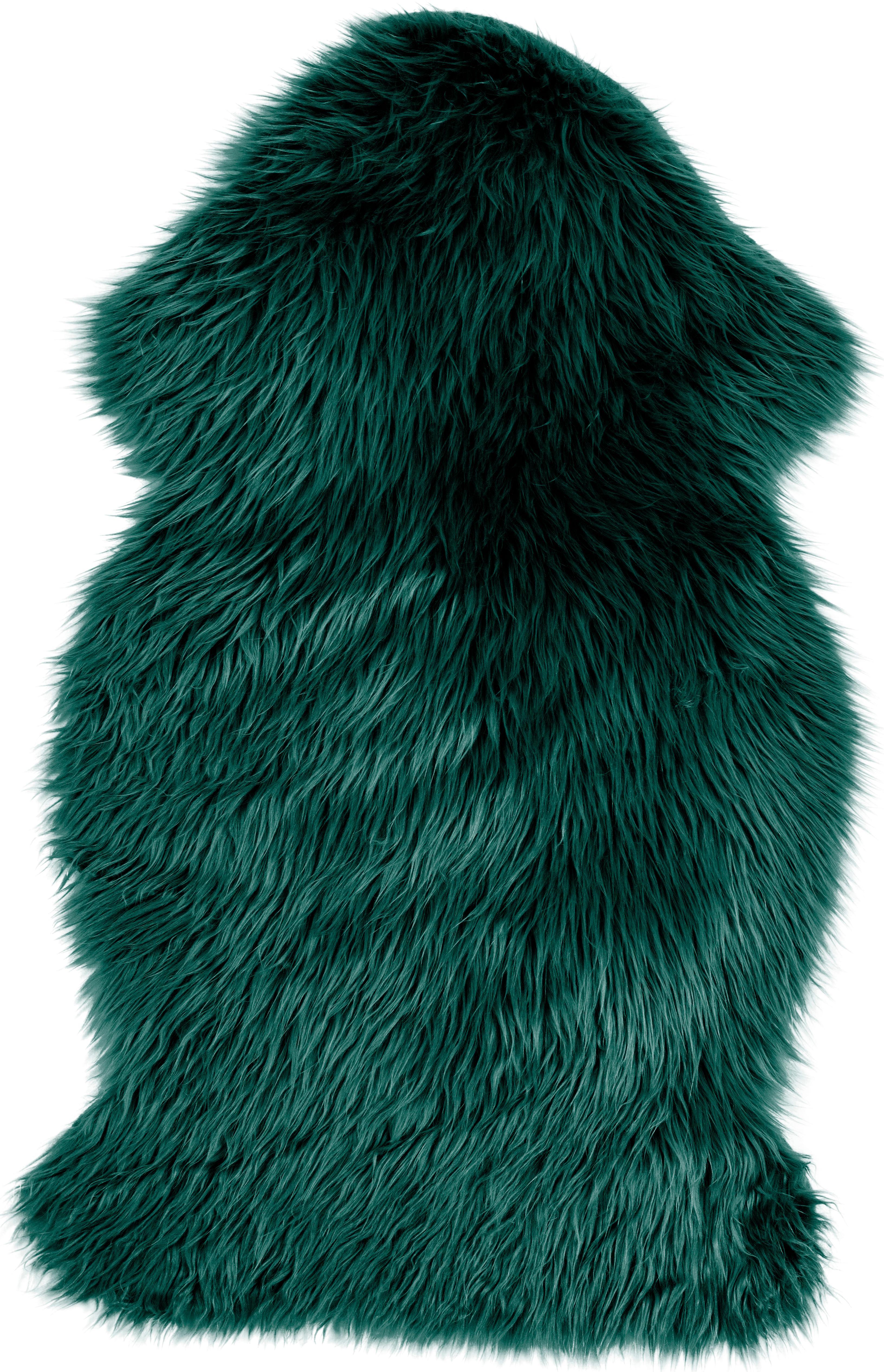 Ecopelliccia Vancouver, Retro: Poliestere liscio, Verde scuro, Larg. 60 x Lung. 100 cm