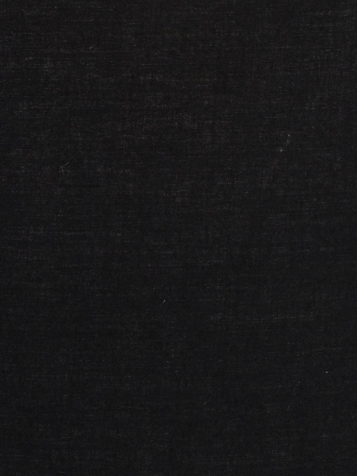 Lámpara de pie Cella, Pantalla: mezcla de algodón, Cable: plástico, Negro, ∅ 48 x Al 158 cm