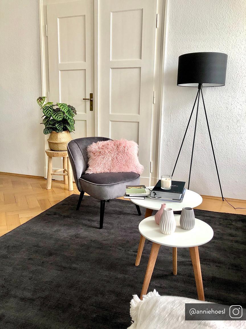 Lampa podłogowa Cella, Czarny, Ø 48 x W 158 cm