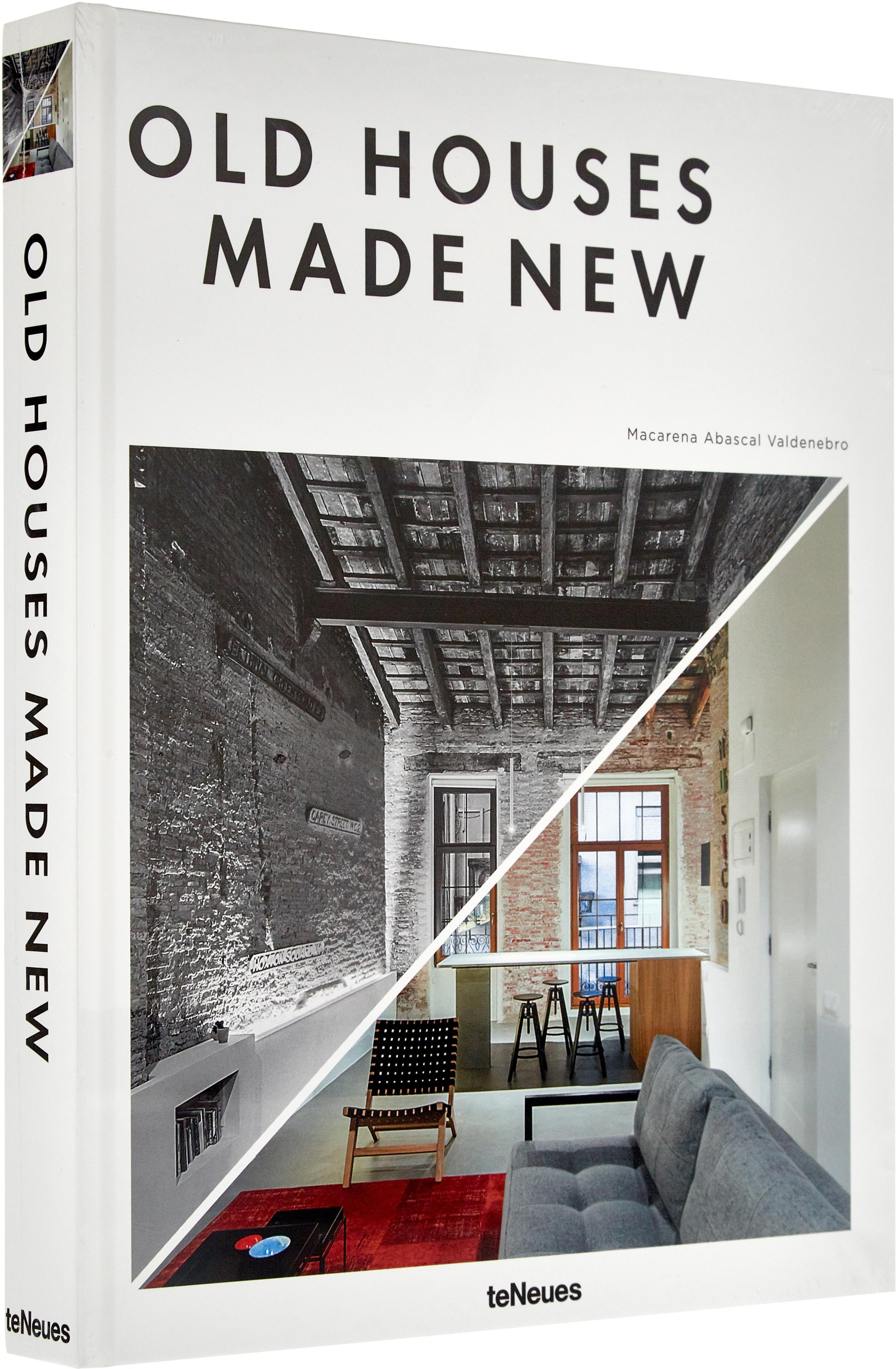 Libro ilustrado Old Houses Made New, Papel, tapa dura, Multicolor, L 32 x An 25 cm