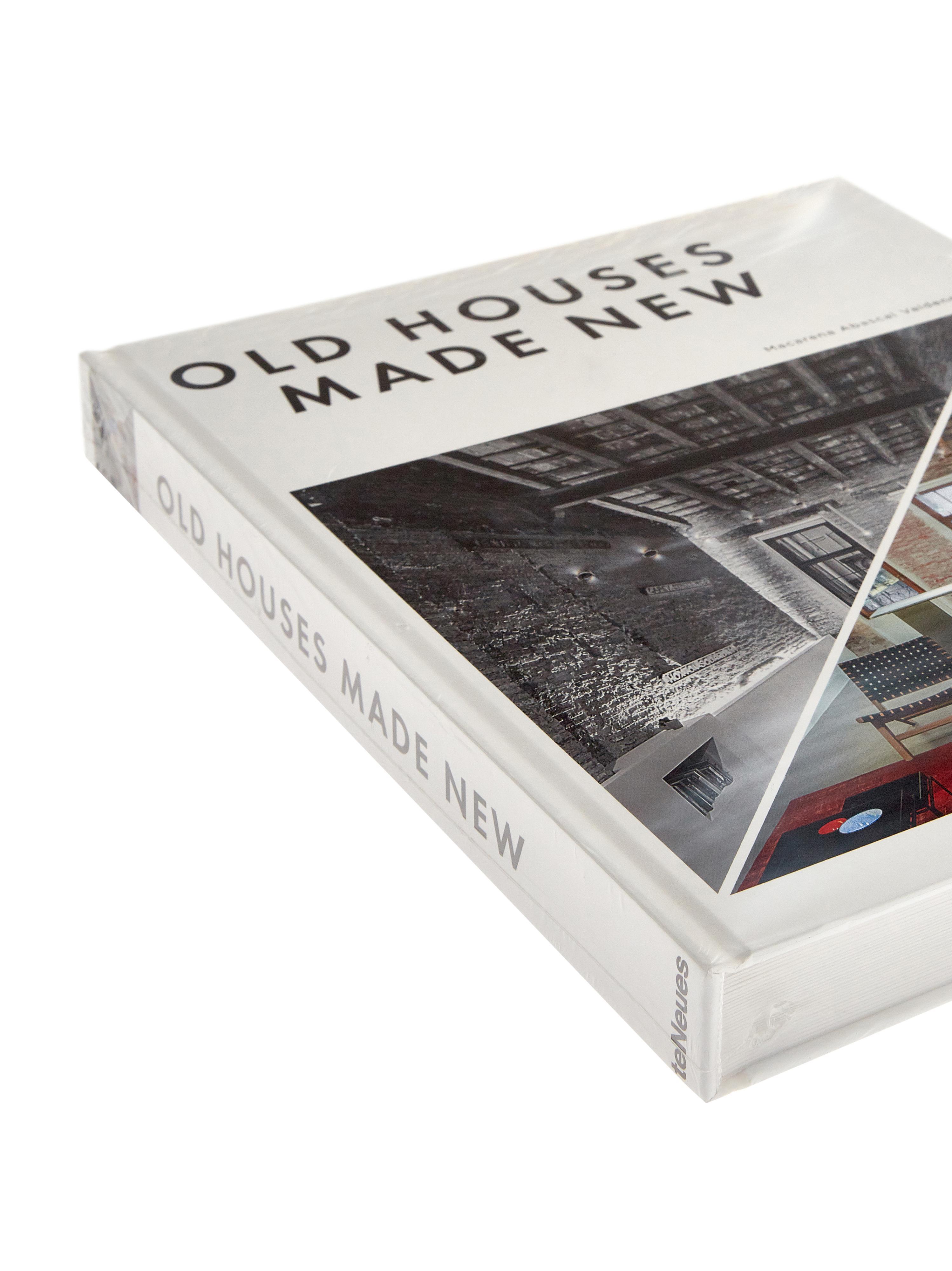 Koffietafelboek Old Houses Made New, Papier, hardcover, Multicolour, 25 x 32 cm