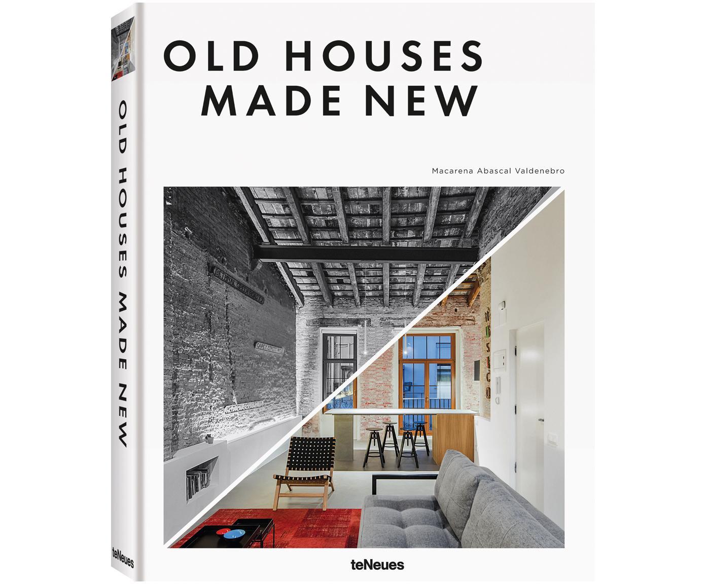 Album Old Houses Made New, Papier, twarda okładka, Wielobarwny, D 32 x S 25 cm