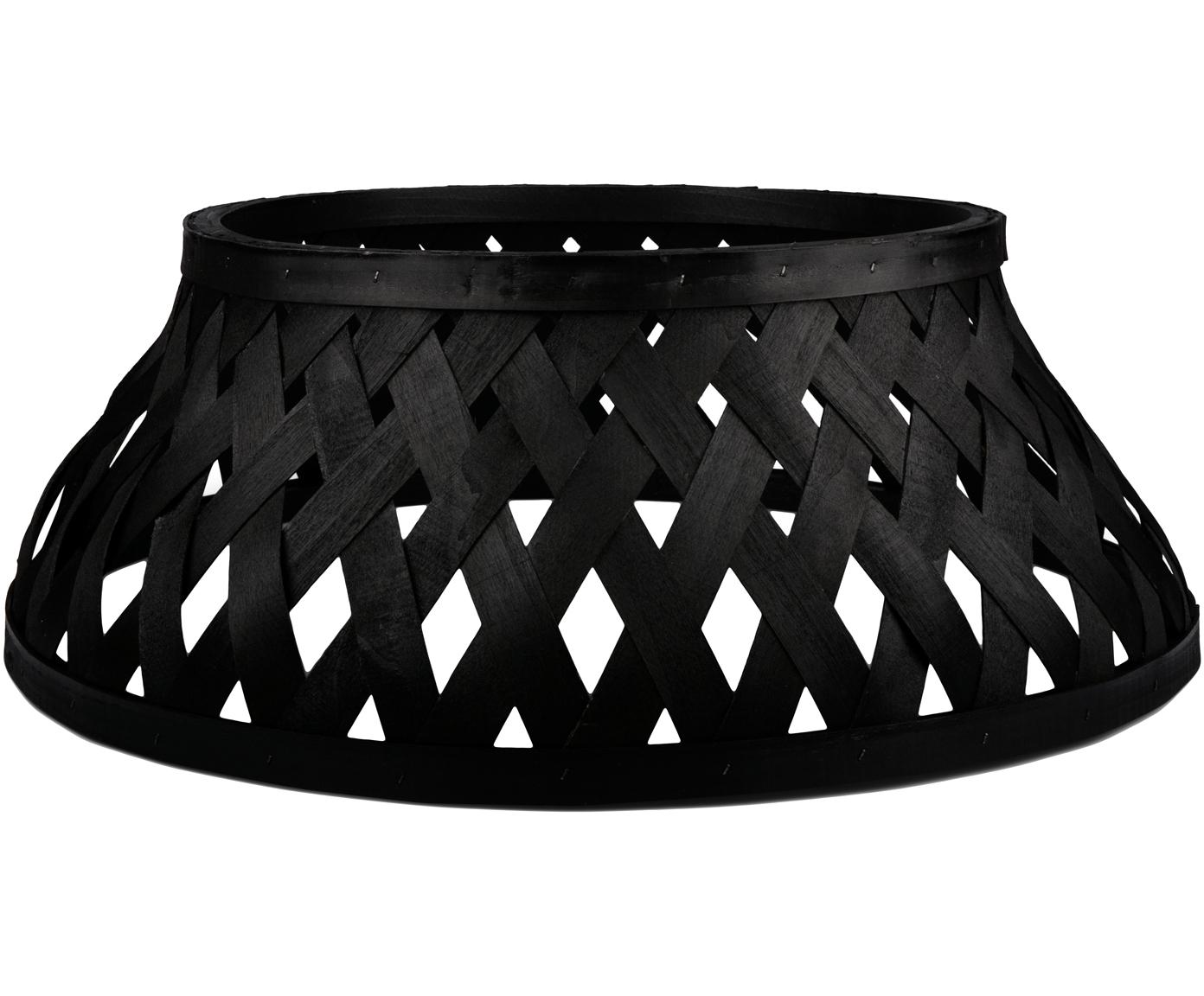 Funda para soporte de Árbol de Navidad Sten, Madera recubierta, Negro, Ø 55 x Al 23 cm