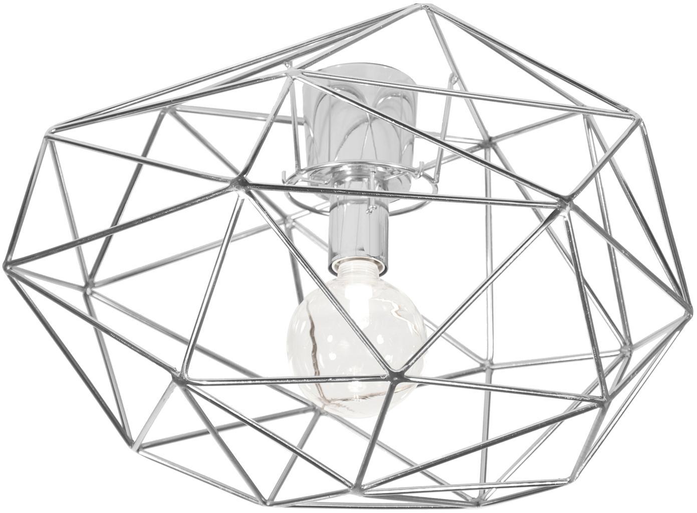 Lampa sufitowa Diamond, Chrom, Ø 50 x W 32 cm