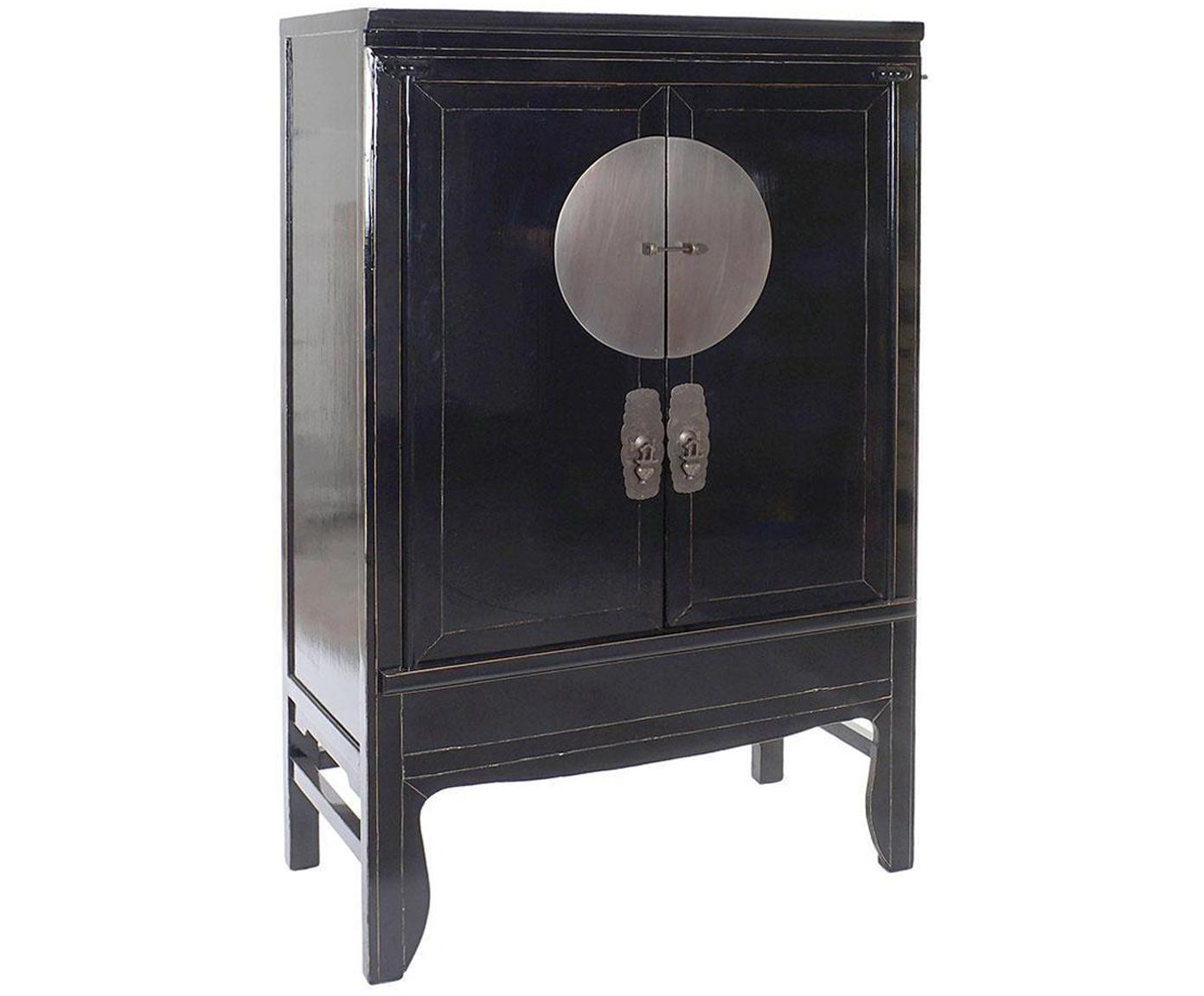 Chiffonier Laquard, Negro, An 108 x Al 172 cm
