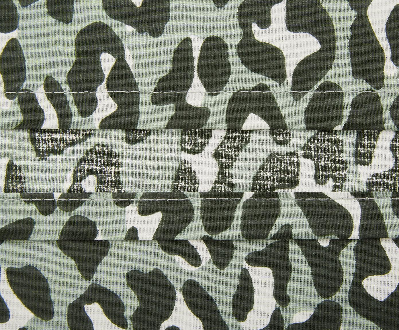 Dekbedovertrek Roarr, Katoen, Groentinten, beige, 240 x 220 cm