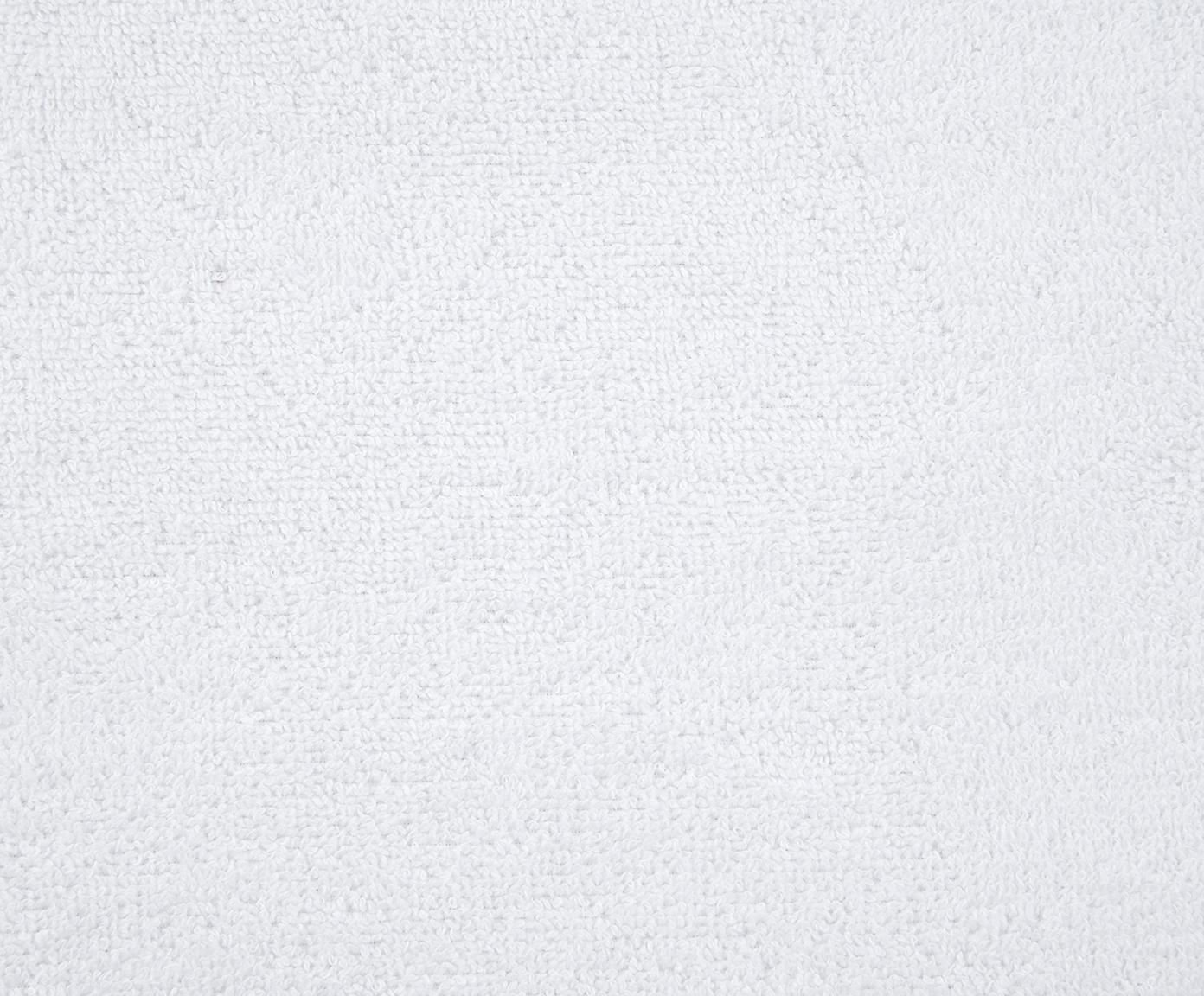 Einfarbiges Handtuch Comfort, verschiedene Grössen, Weiss, Gästehandtuch