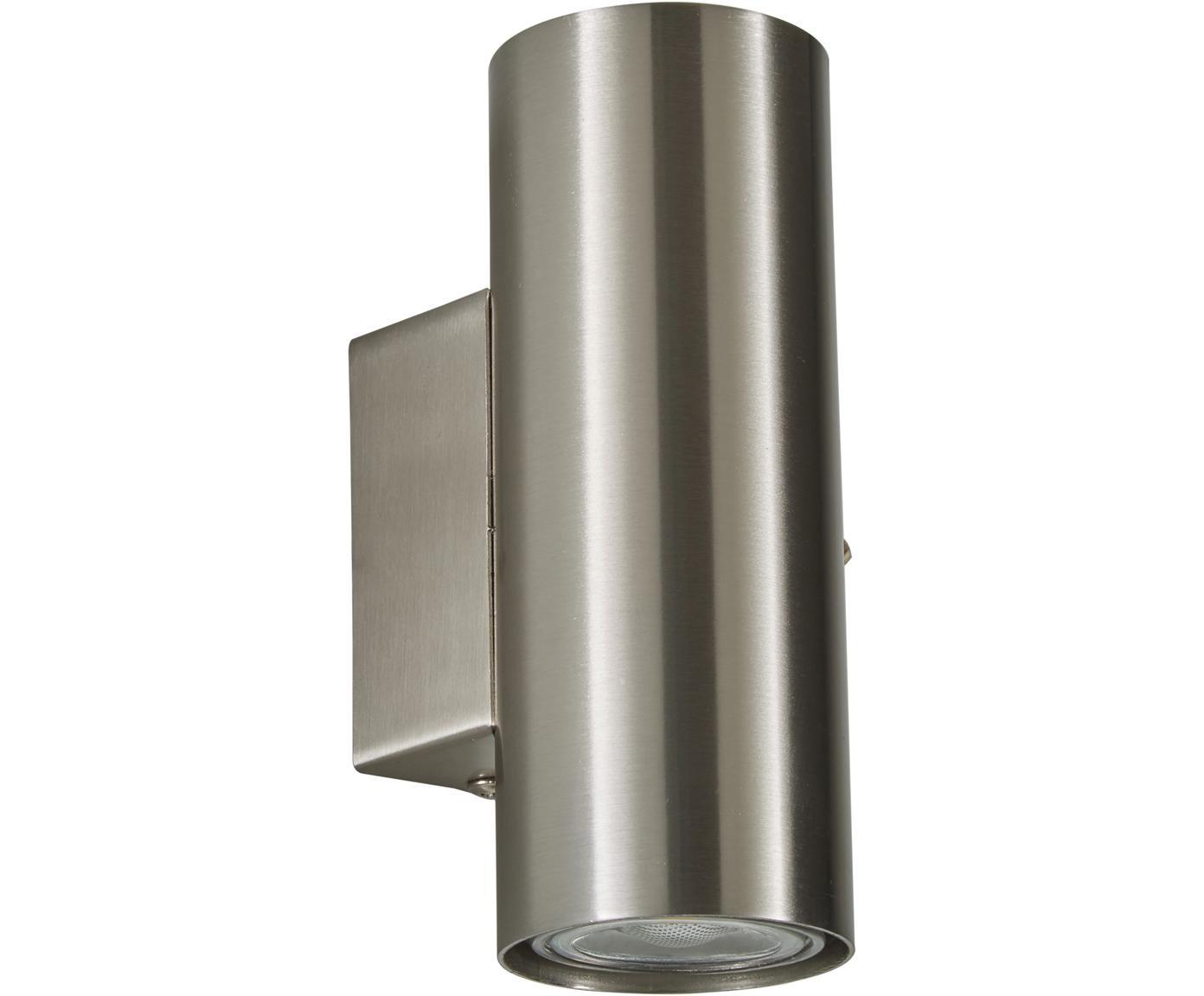 LED Wandleuchte Paul, Metall, verchromt, Chrom, 6 x 9 cm