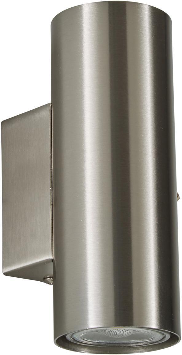 Wandstrahler Paul, Metall, verchromt, Chrom, 6 x 9 cm