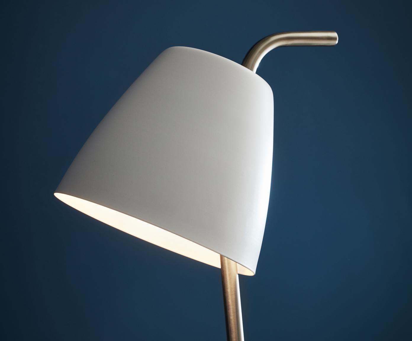 Lampa podłogowa Spin, Metaliczny, Ø 31 x W 137 cm