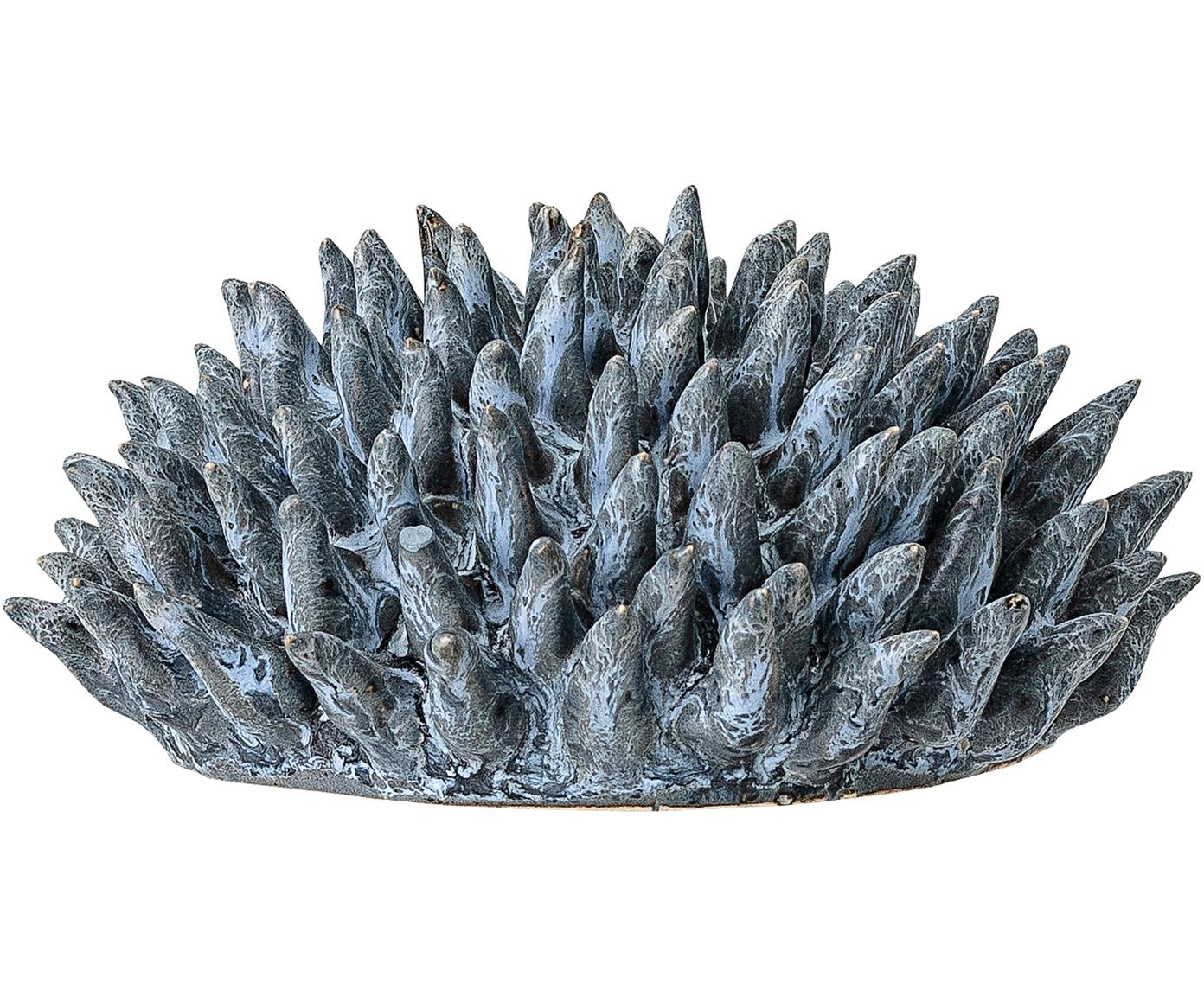 Oggetto decorativo Gala, Gres, Blu, Ø 11 x Alt. 6 cm