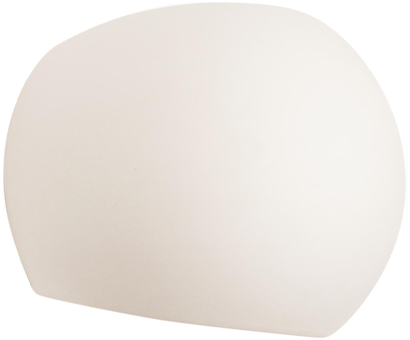 Aplique de cerámica Mercury, Blanco, An 20 x Al 18 cm