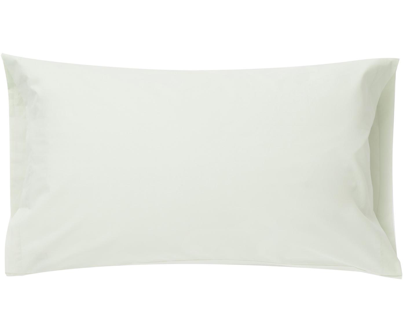 Funda de almohada Plain Dye, Algodón, Verde claro, An 50 x L 110 cm