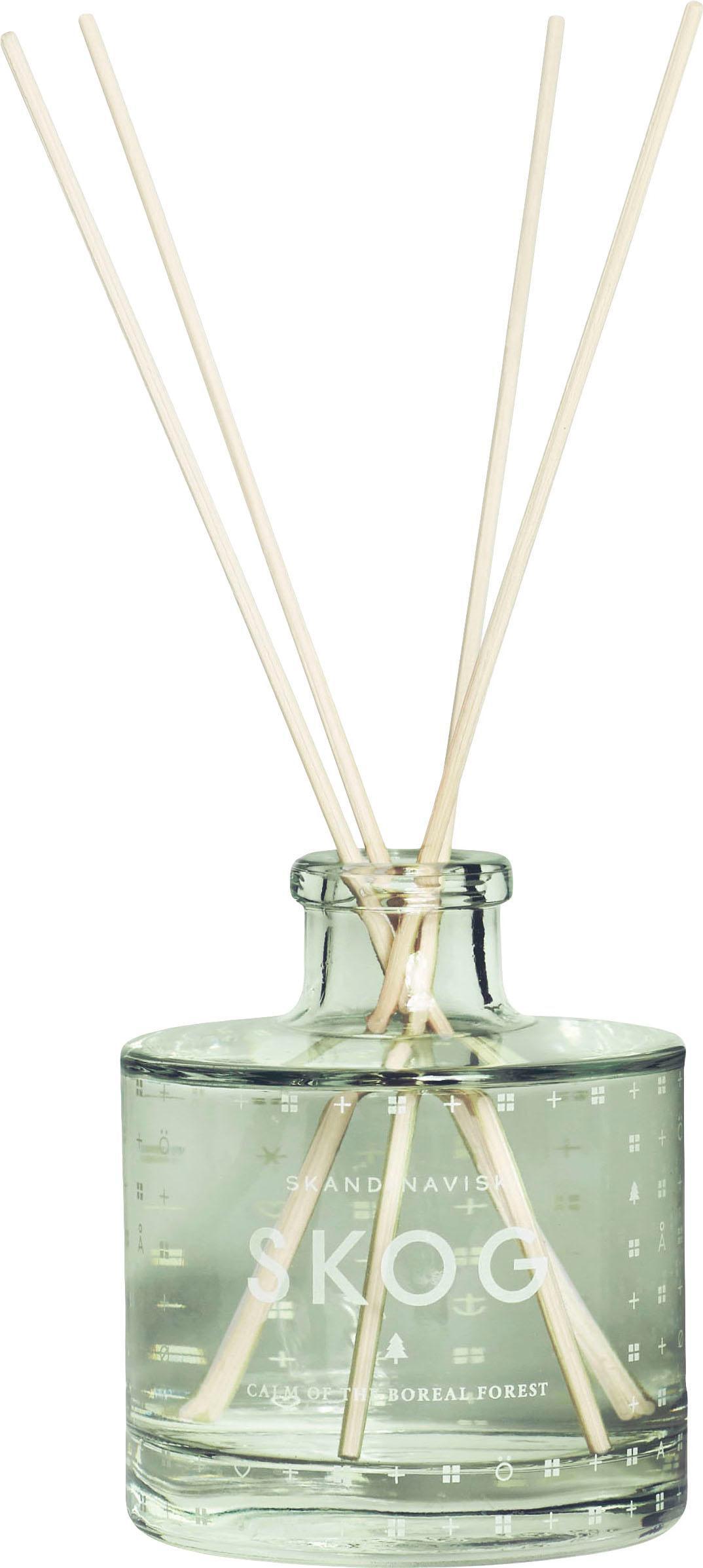 Dyfuzor zapachowy Skog (igły sosny), Butelkowy zielony, Ø 8 x W 11 cm