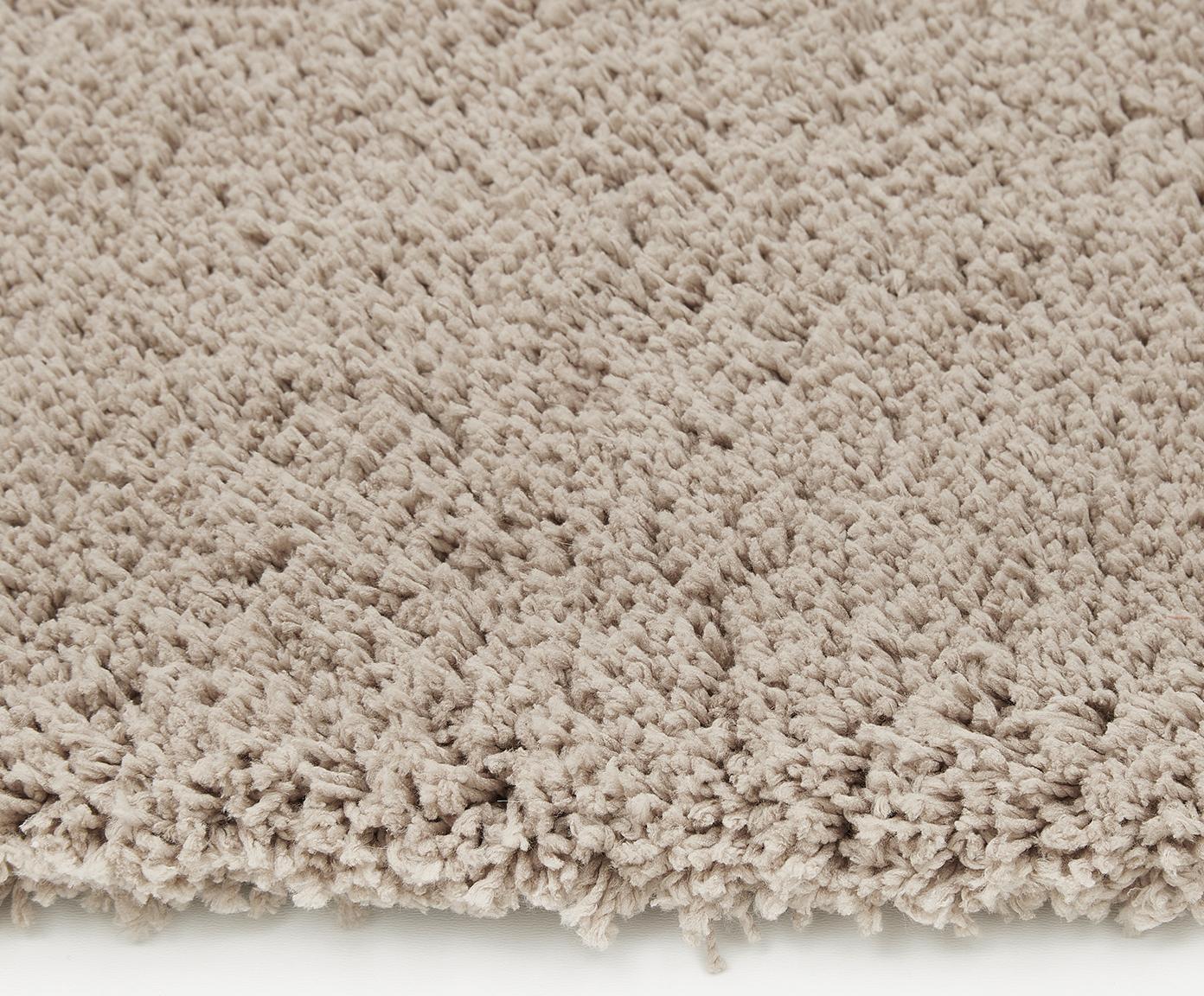 Načechraný koberec svysokým vlasem Leighton, Béžová