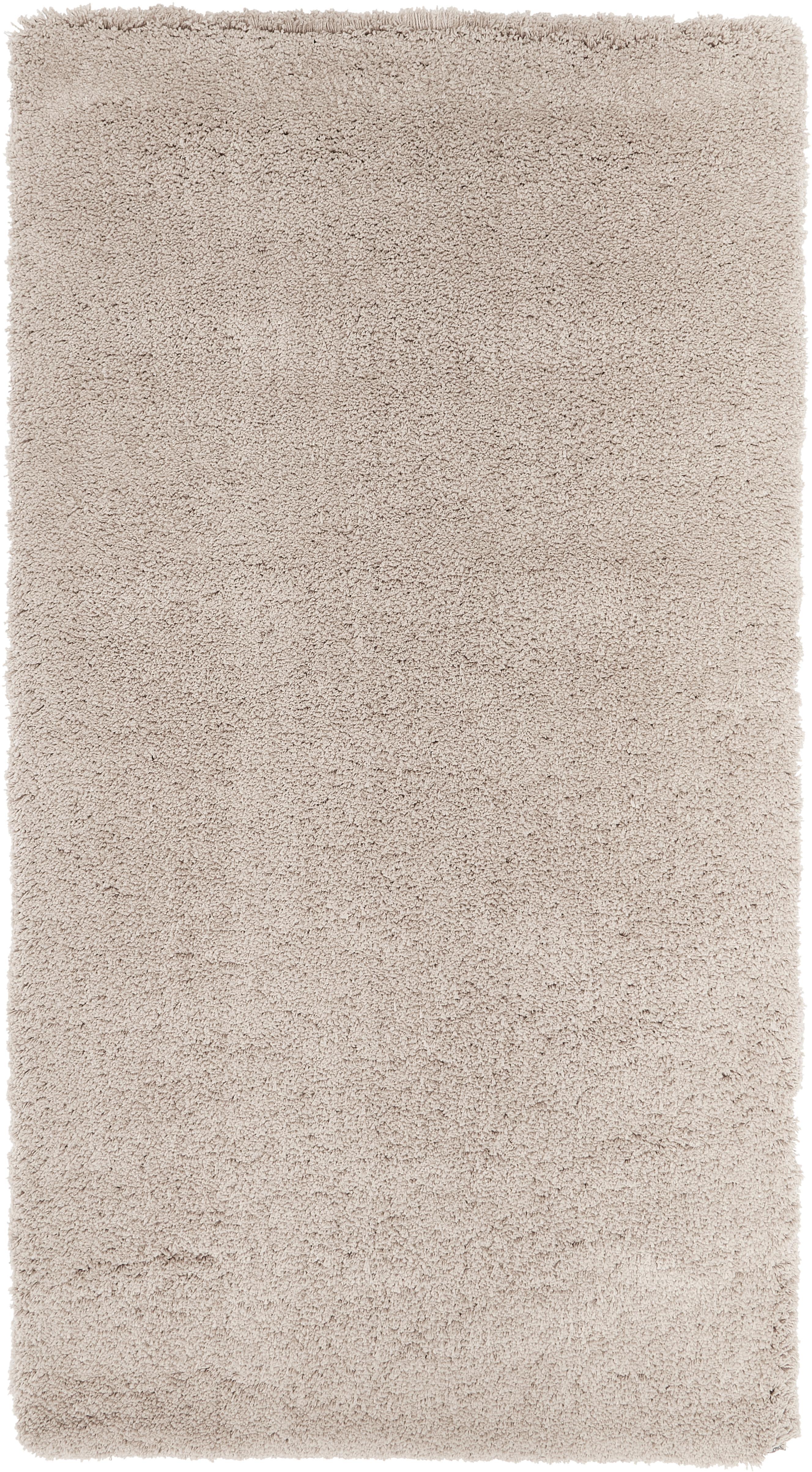 Alfombra mullida de pelo largo Leighton, Parte superior: 100%poliéster (microfibr, Reverso: 70%poliéster, 30%algodó, Beige, An 80 x L 150 cm (Tamaño XS)