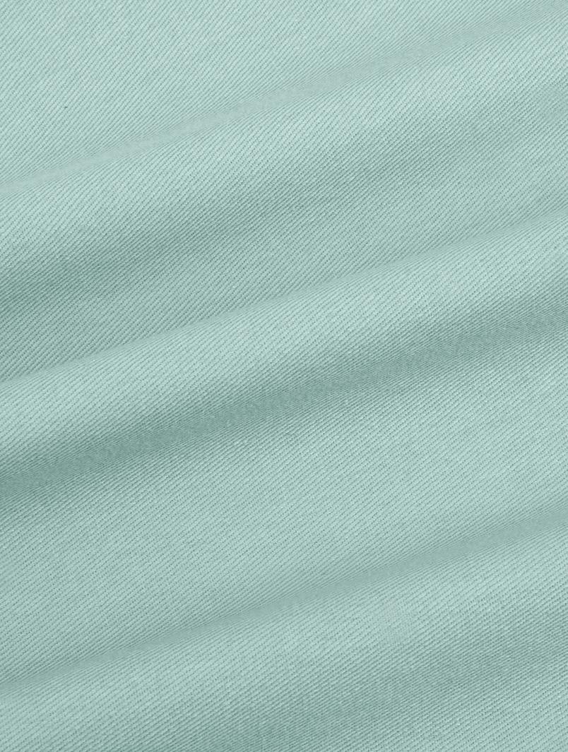 Baumwoll-Kissenhülle Mads in Mintgrün, 100% Baumwolle, Salbeigrün, 30 x 50 cm