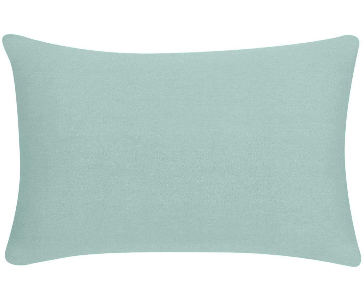 Federa arredo in verde salvia Mads, Cotone, Verde salvia, Larg. 30 x Lung. 50 cm