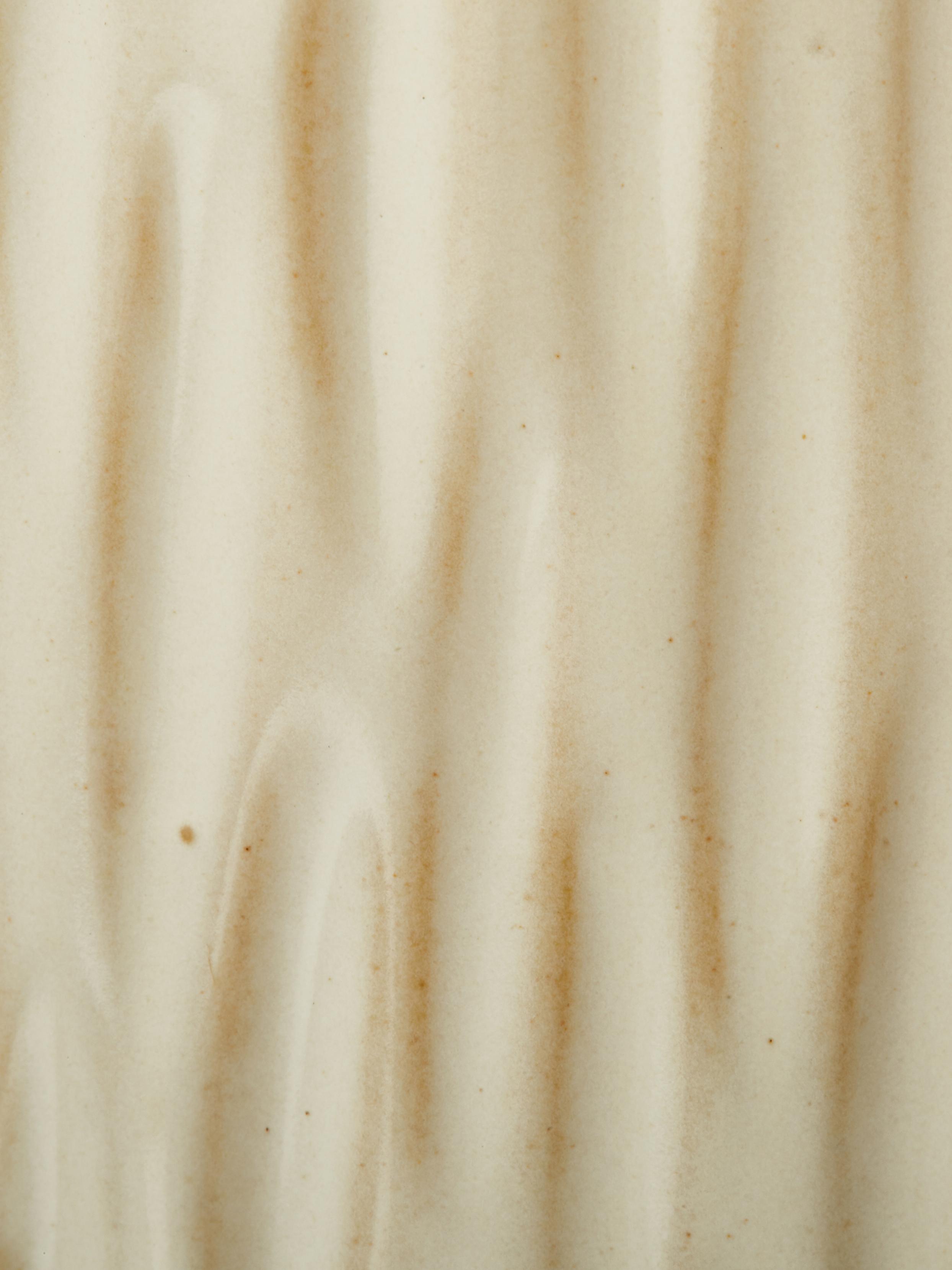 Set de jarrones de porcelana Zalina, 4pzas., Porcelana, Crema, beige, Set de diferentes tamaños