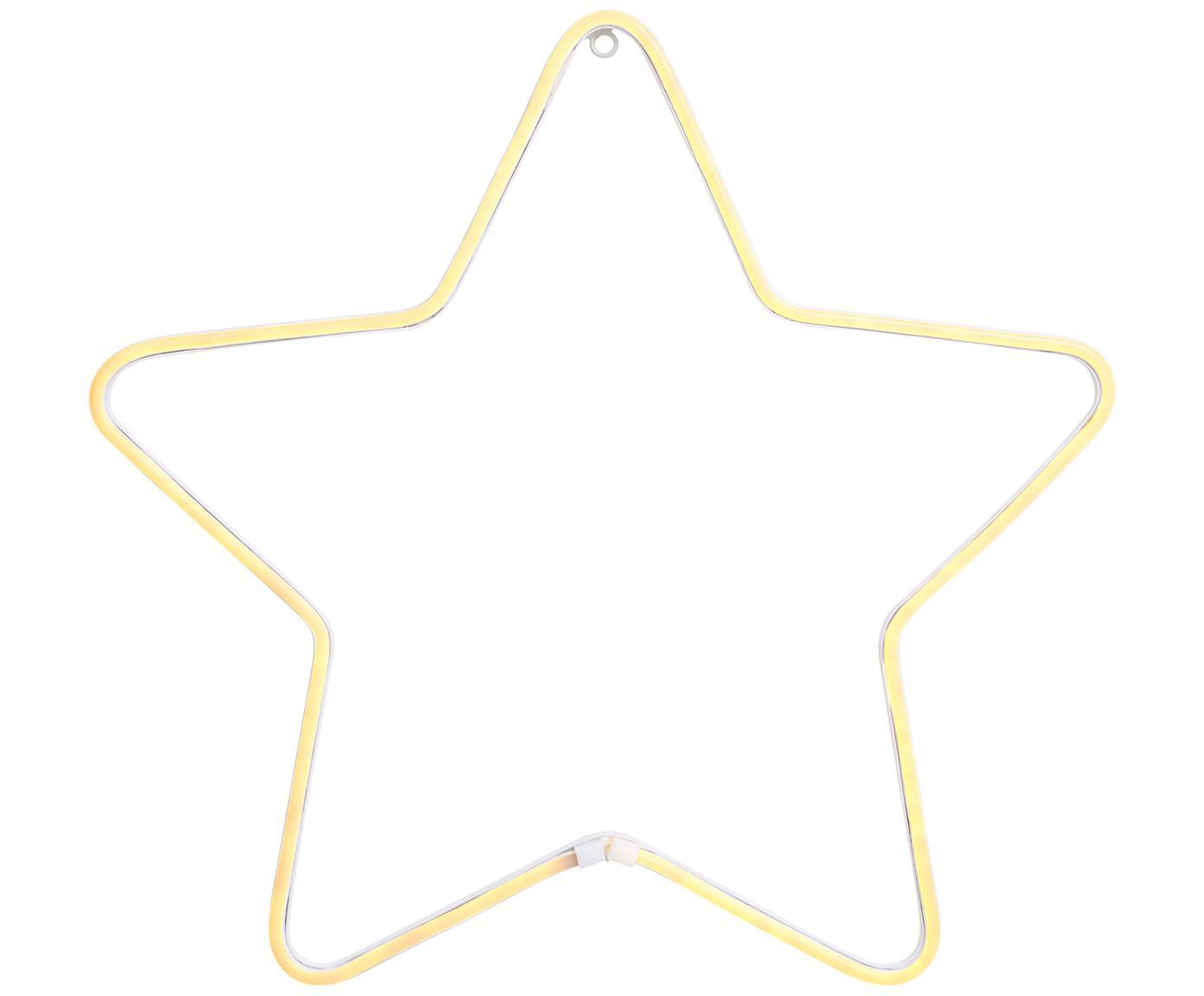 Oggetto luminoso a LED Montana, Metallo verniciato, Bianco, Ø 50 cm