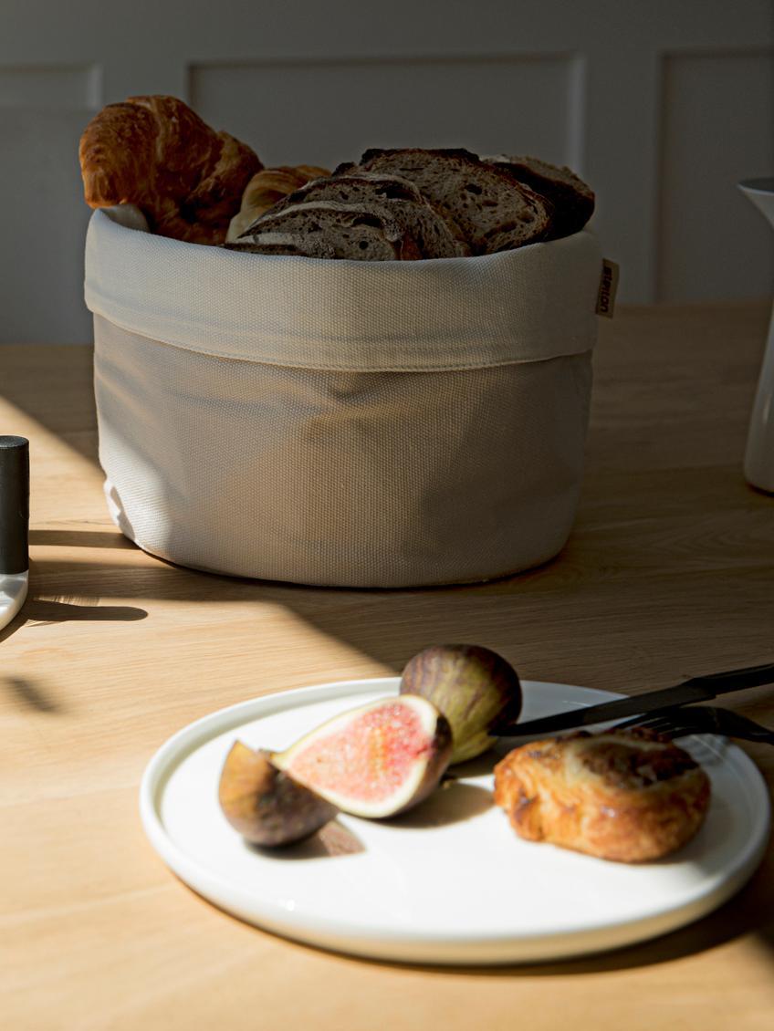 Fine Bone China Frühstücksteller Oco, 6 Stück, Fine Bone China (Porzellan), Elfenbein, Ø 21 cm