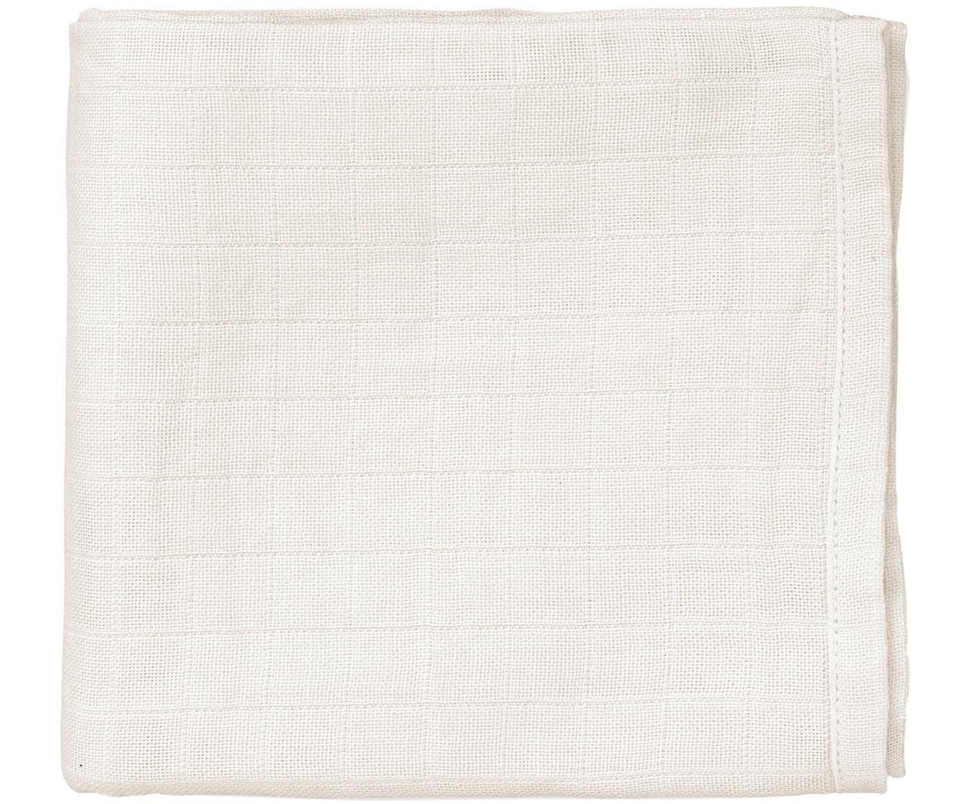Bavlněná plenka z organické bavlny Muslin, 2 ks, Krémová