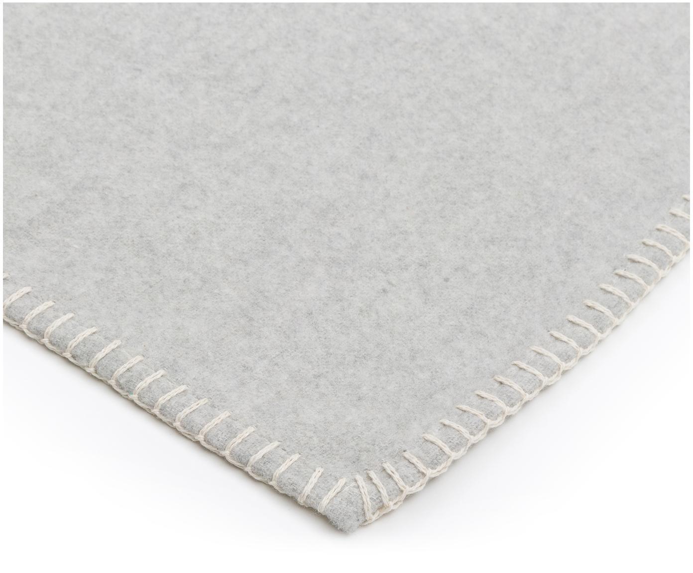 Pled z polaru Sylt, Jasny szary, S 140 x D 200 cm