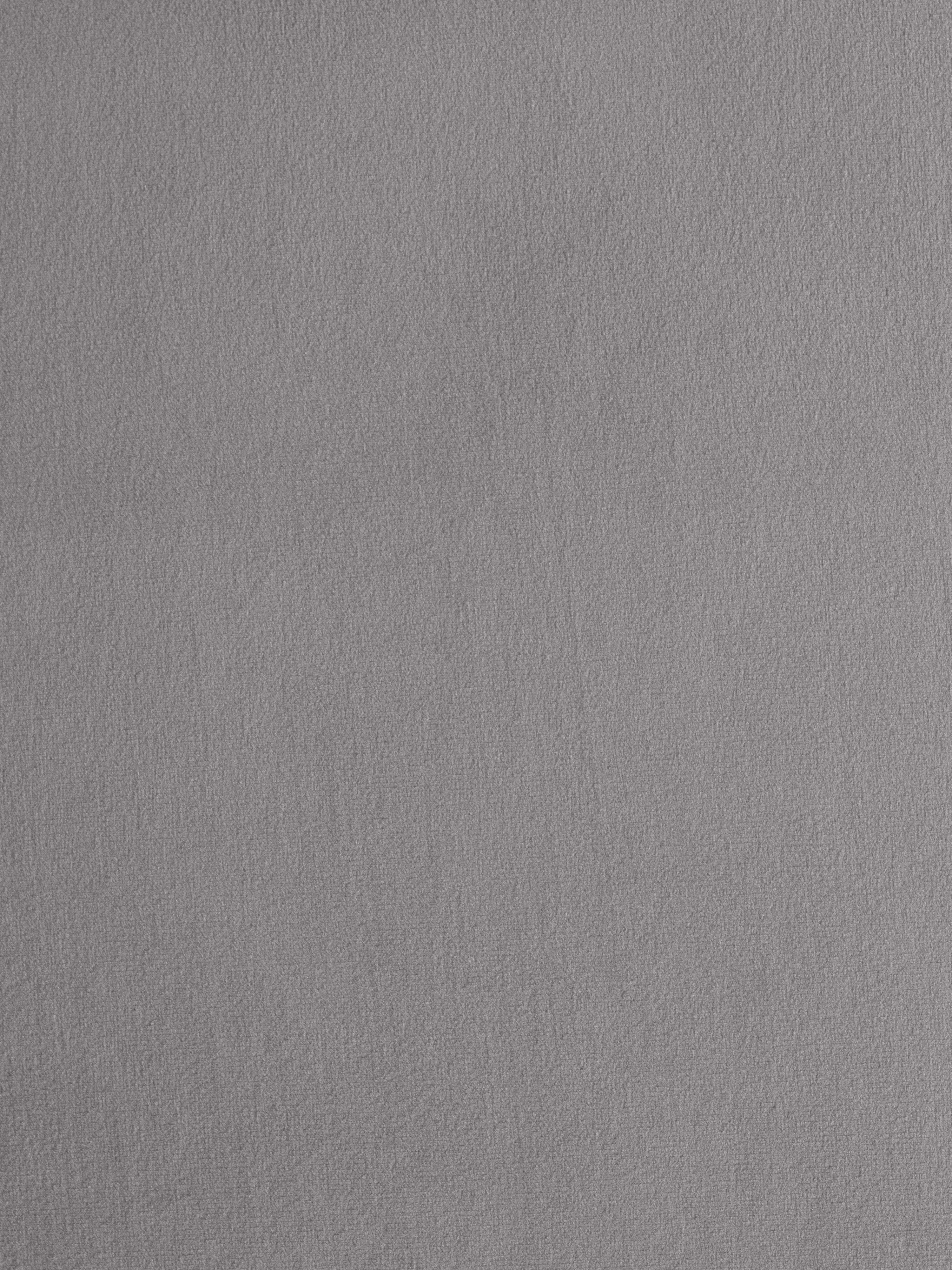 Samt-Sessel Fluente, Bezug: Samt (Hochwertiger Polyes, Gestell: Massives Kiefernholz, Füße: Metall, pulverbeschichtet, Samt Hellgrau, B 74 x T 85 cm