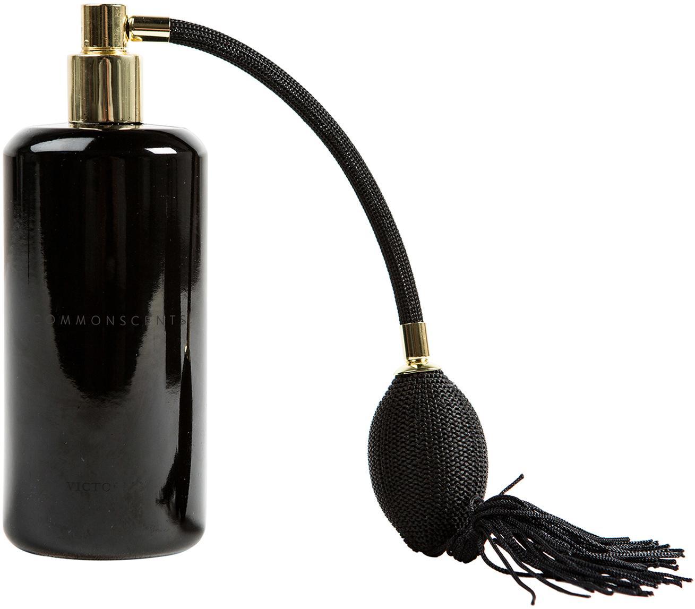 Spray per ambienti Commonscents (gelsomino & cedro), Contenitore: vetro, Testa della pompa: metallo rivestito, Nero, 180 ml