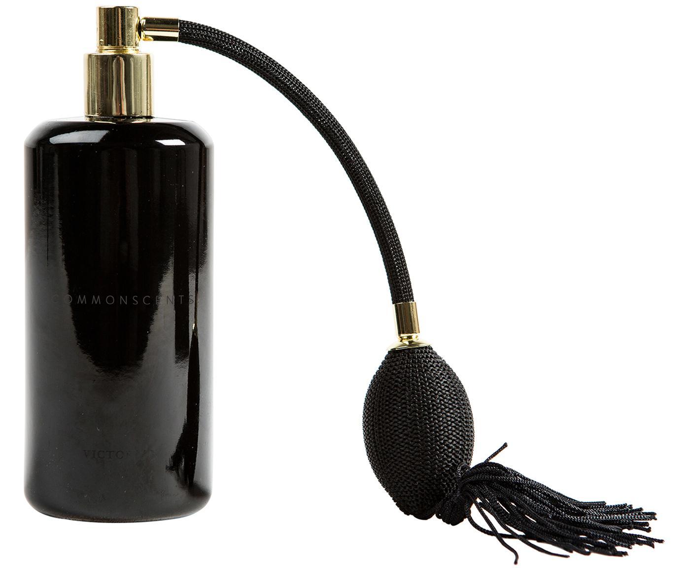 Kamerspray Commonscents (jasmijn & cederhout), Houder: glas, Pompje: gecoat metaal, Zwart, 180 ml