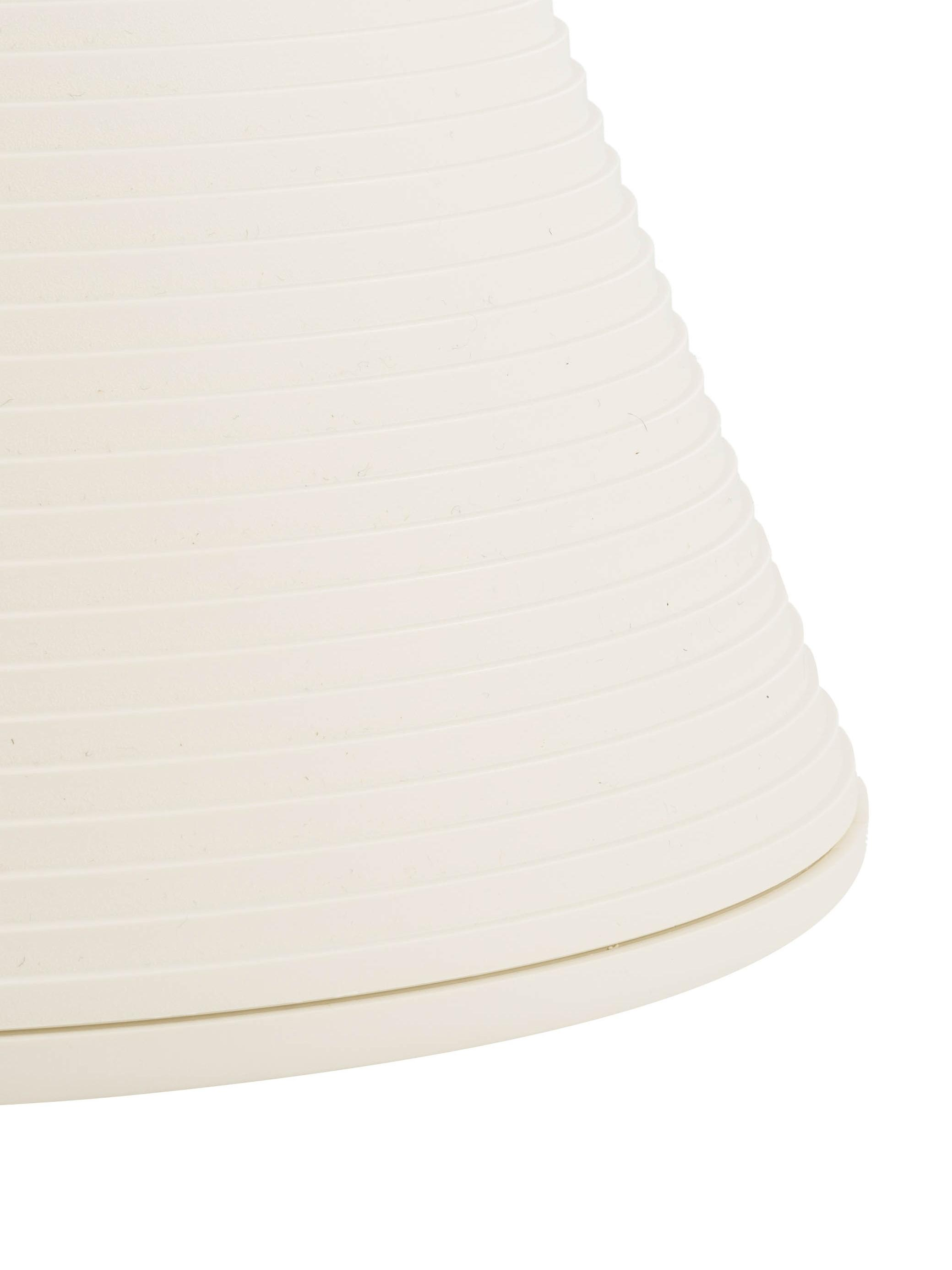Designový taburet/ odkládací stolek Prince AHA, Bílý vosk