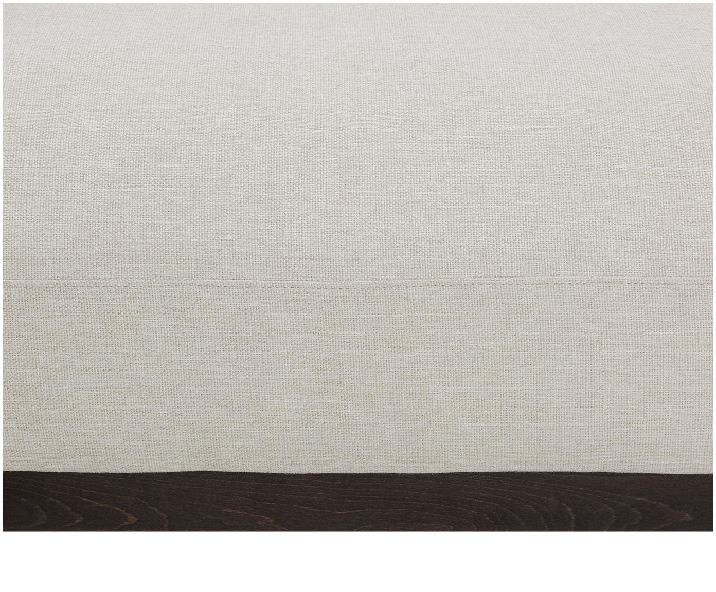 Sofa Brooks (3-osobowa), Tapicerka: poliester 35000 cykli w , Stelaż: lite drewno sosnowe, Nogi: metal malowany proszkowo, Beżowy, S 230 x G 98 cm
