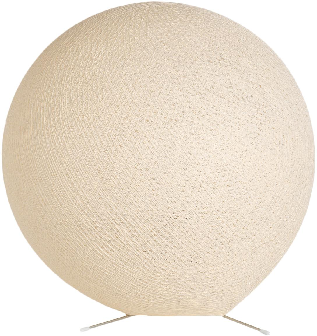 Tafellamp Colorain, Lampions: polyester, Beugel: metaal, Beige, Ø 36 cm