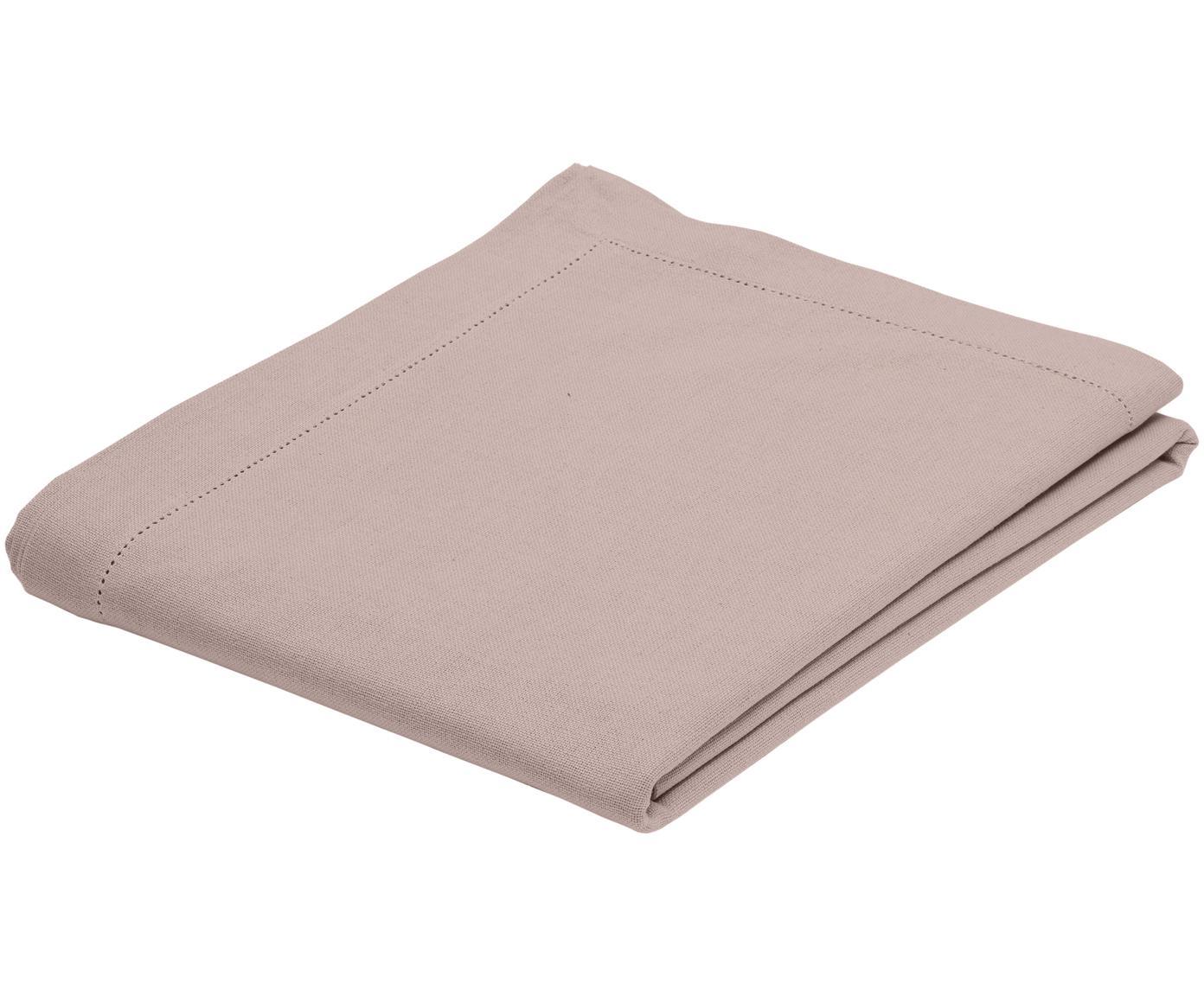 Mantel de algodón Indi, Algodón, Rosa, De 6 a 8 comensales (An 140 x L 250 cm)