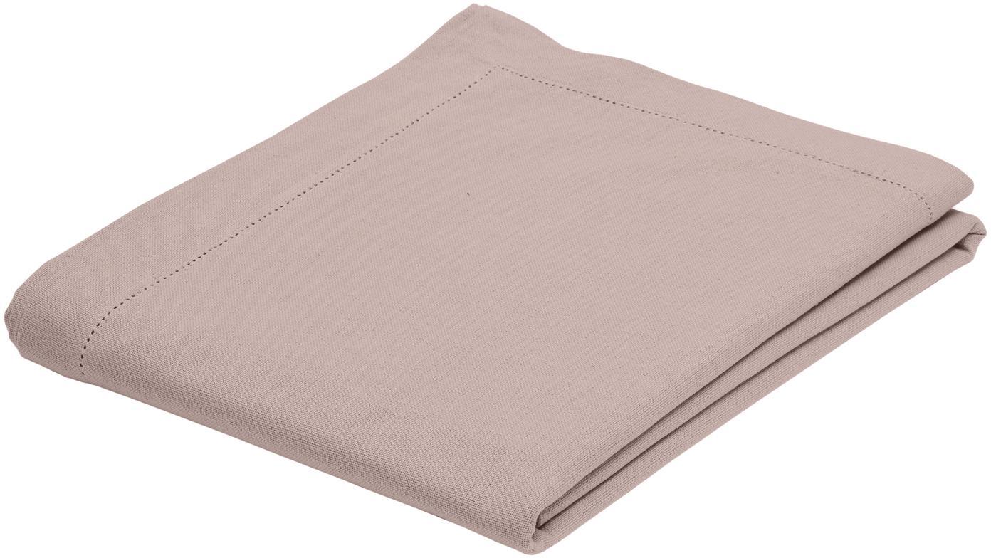 Tovaglia in cotone con ricamo Indi, Cotone, Rosa, Per 6-8 persone  (Larg.140 x Lung. 250 cm)
