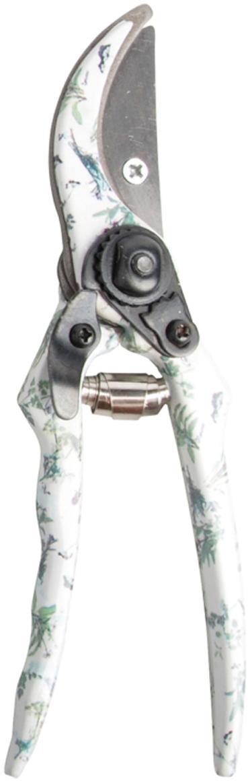 Tijeras de poda para jardinería Herbs, Acero, acero con carbono, Blanco, verde, An 6 x Al 20 cm