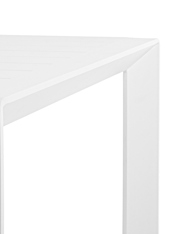 Tuintafel Kirby, Gepoedercoat aluminium, Wit, B 180 x D 90 cm