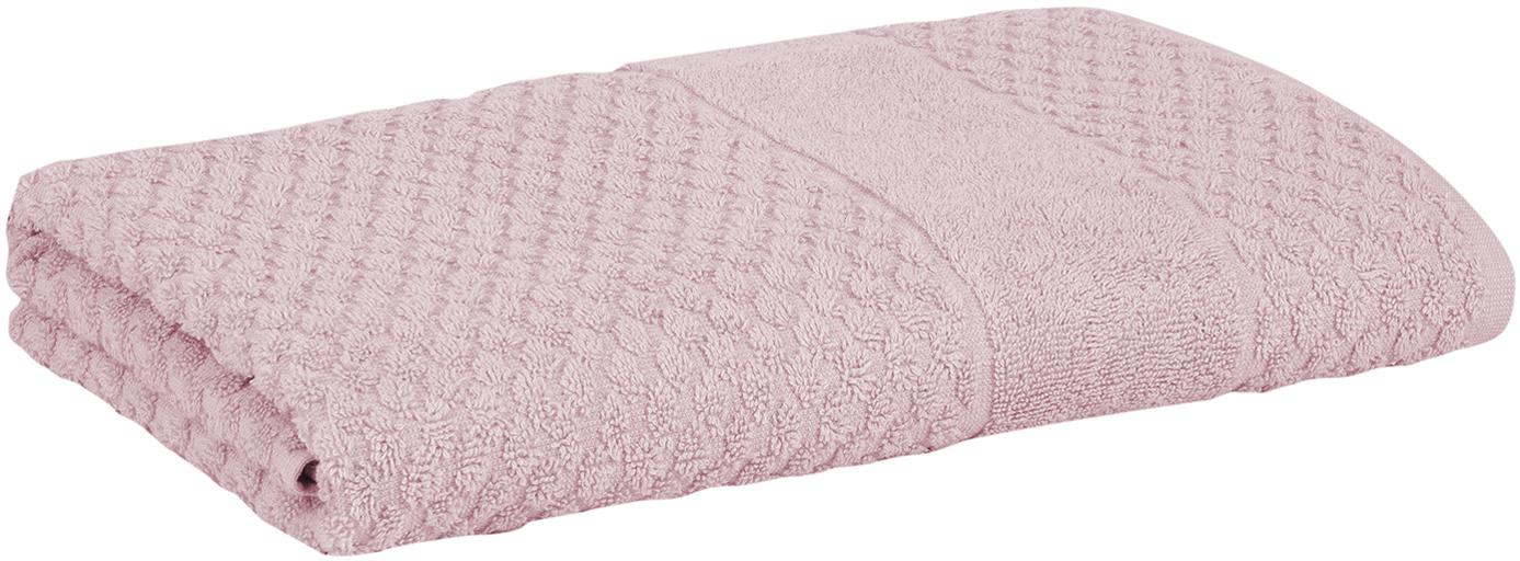 Handdoek Katharina, 100% katoen, middelzware kwaliteit 500 g/m², Oudroze, Handdoek
