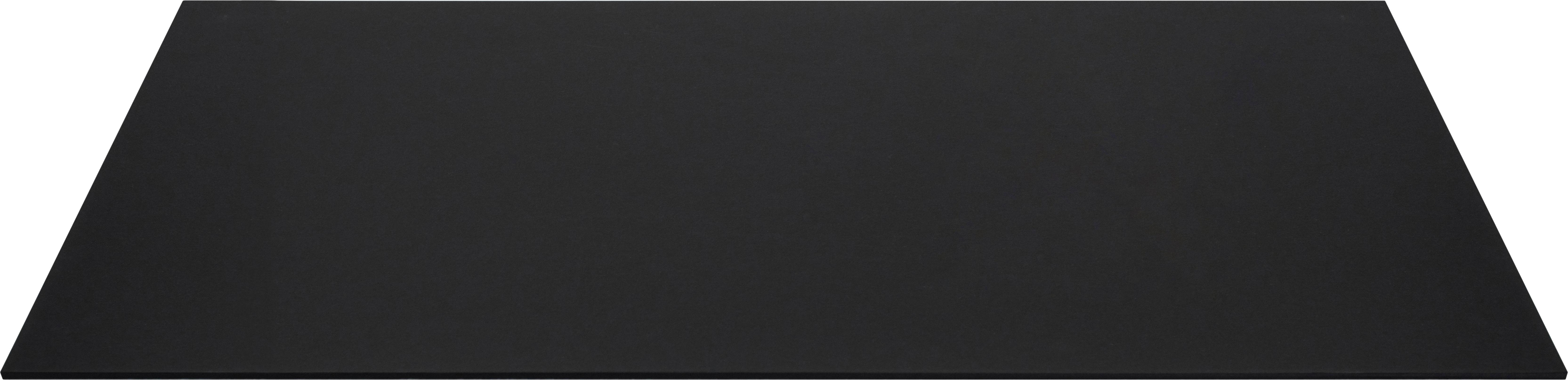 Podkładka na biurko Annie, Tektura laminowana, Czarny, S 59 x G 39 cm