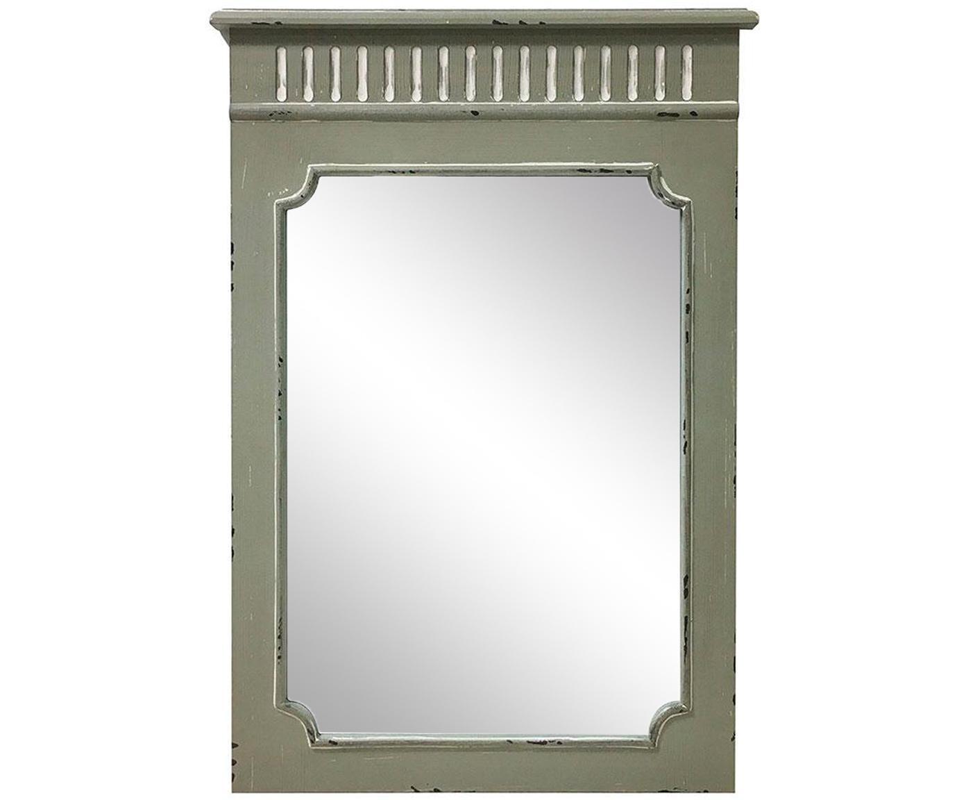 Espejo de pared Rocio, Espejo: cristal, Beige, An 50 x Al 70 cm
