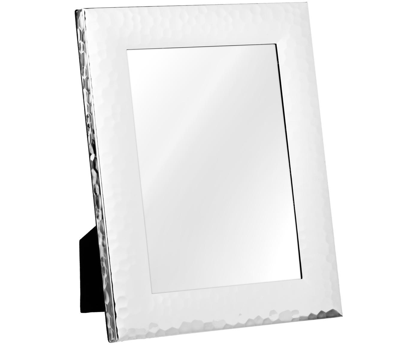 Fotolijstje Gubbio, Lijst: verzilverd metaal, Zilverkleurig, 13 x 18 cm