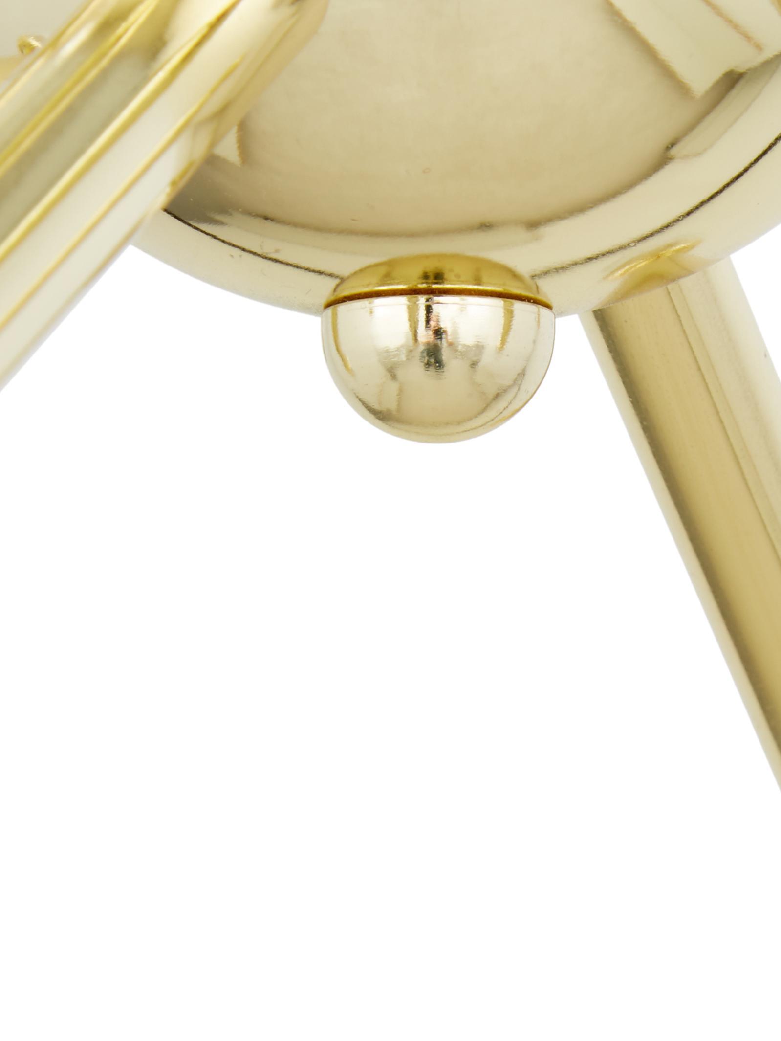 Lampa wisząca Spike, Osłona mocowania sufitowego: odcienie złotego, błyszczący Klosz: odcienie złoteg, Ø 50 cm