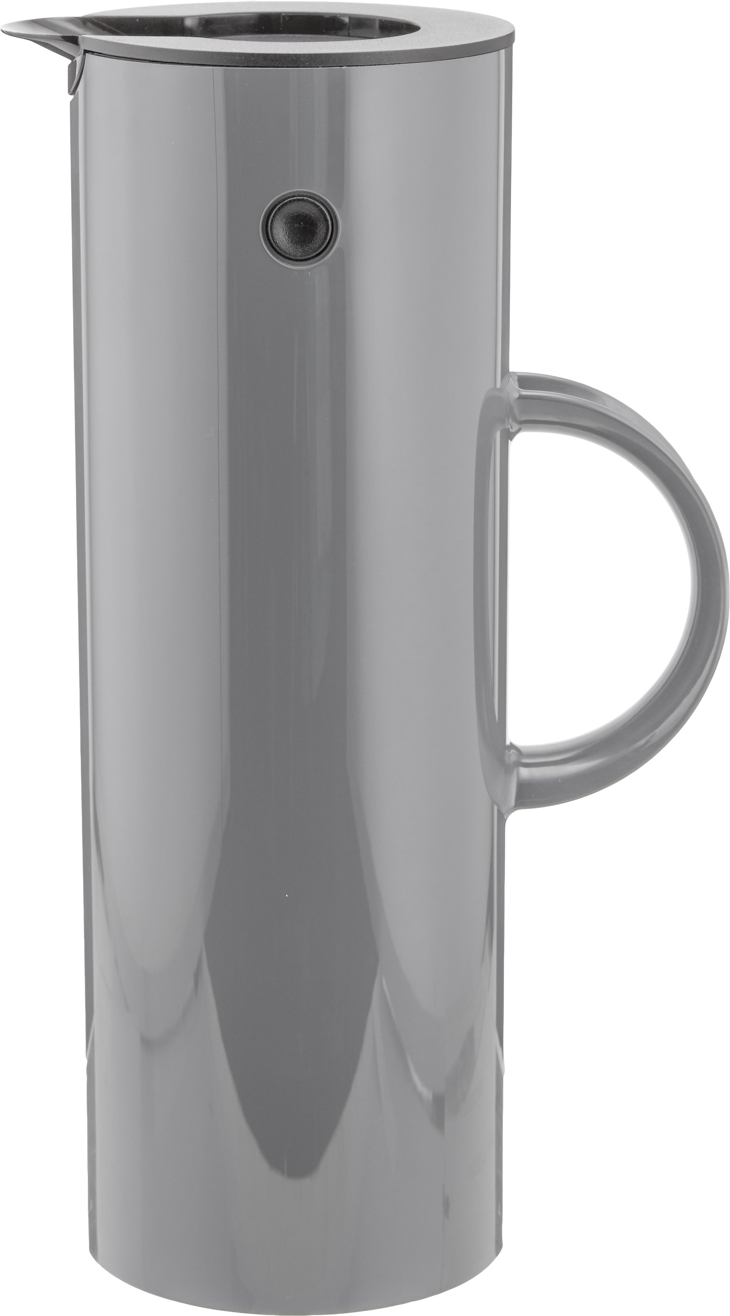 Termo EM77, Plástico ABS, interior con inserto de vidrio, Gris granito, 1 L