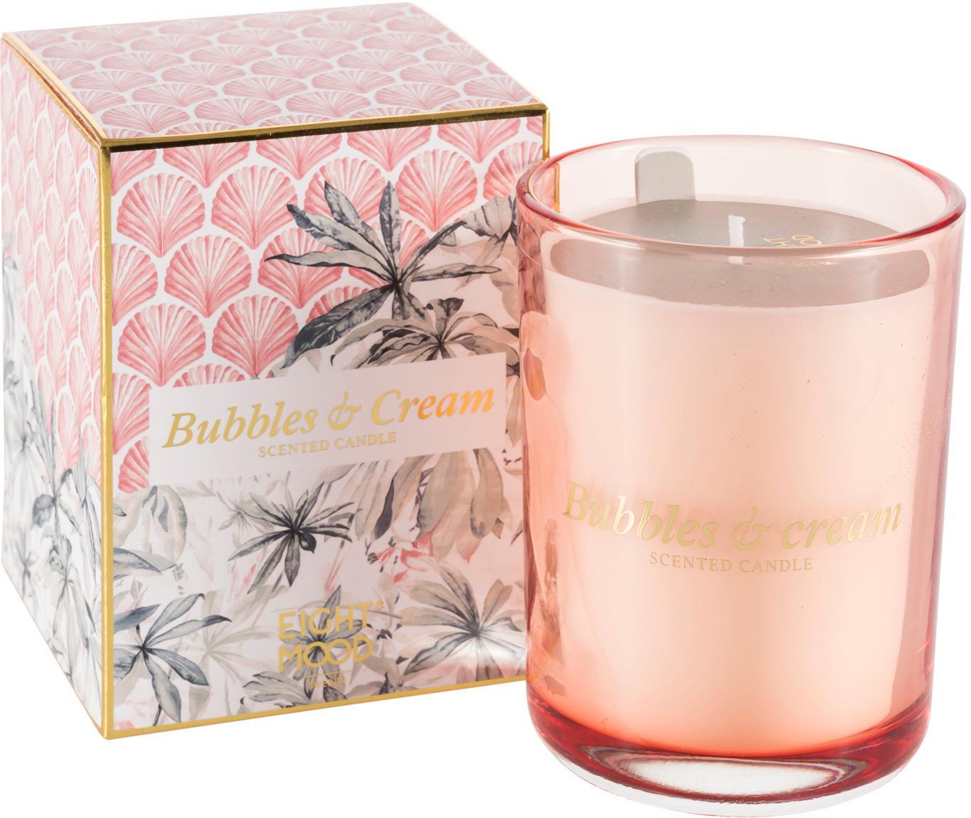 Candela profumata Allure (crema dolce), Scatola: carta, Contenitore: vetro, Rosa, multicolore, Larg. 9 x Alt. 12 cm