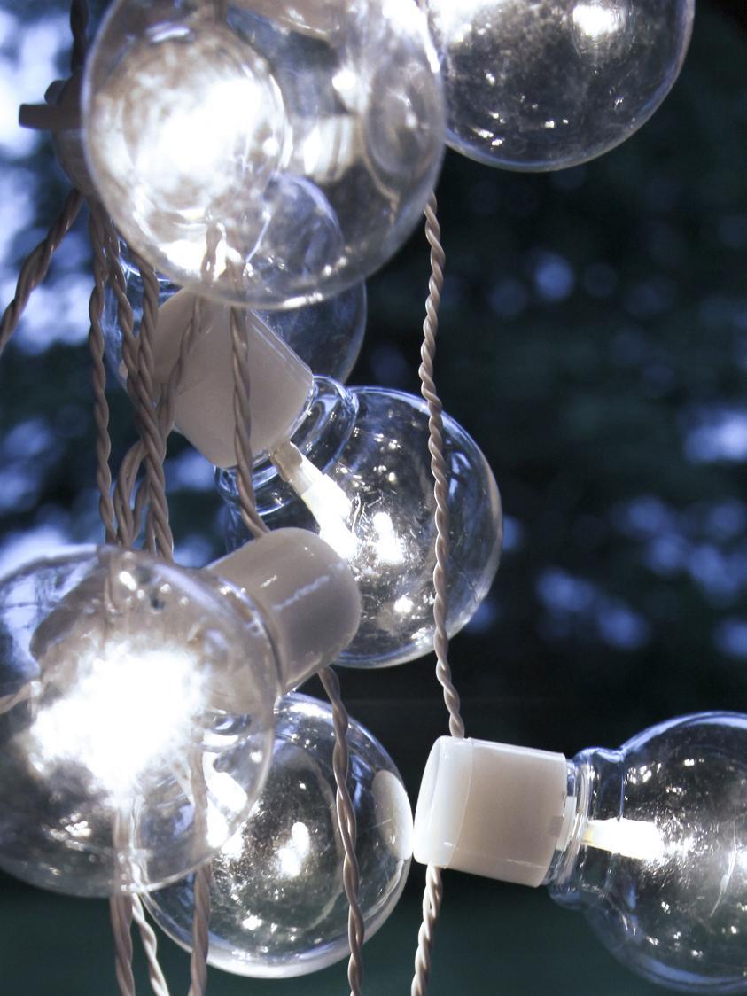 Guirnalda de luces LED Partaj, 950cm, Blanco, L 950 cm
